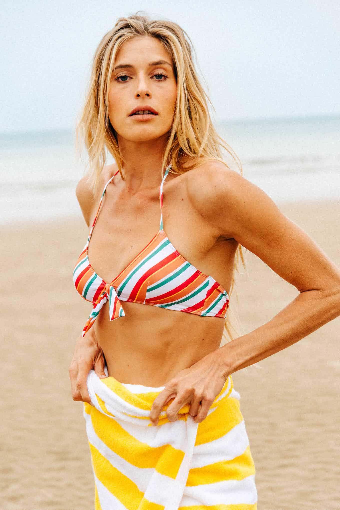 Bikini L'été sauvage with stripes