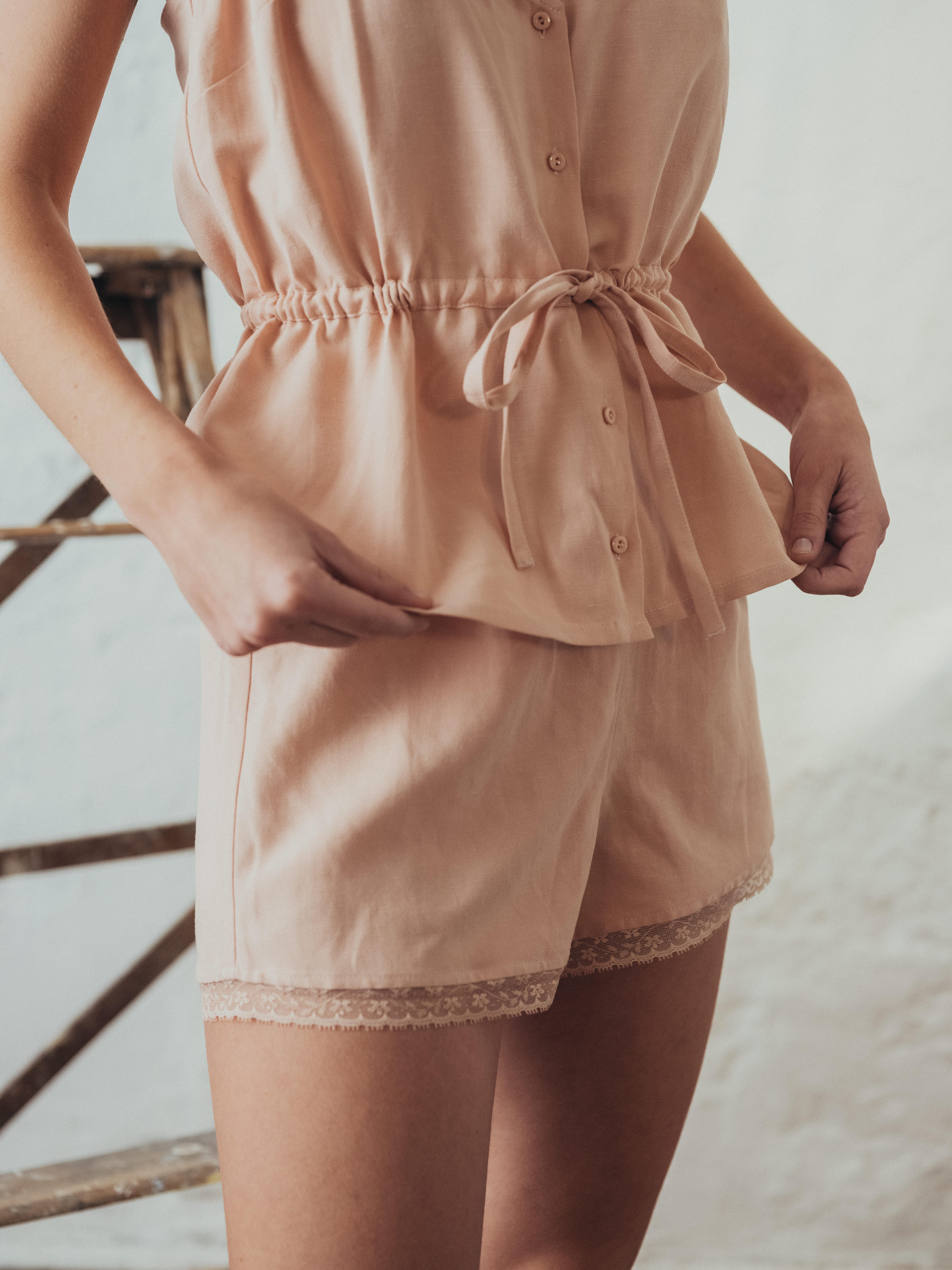 Shorts L'Ombre du Tilleul Pink