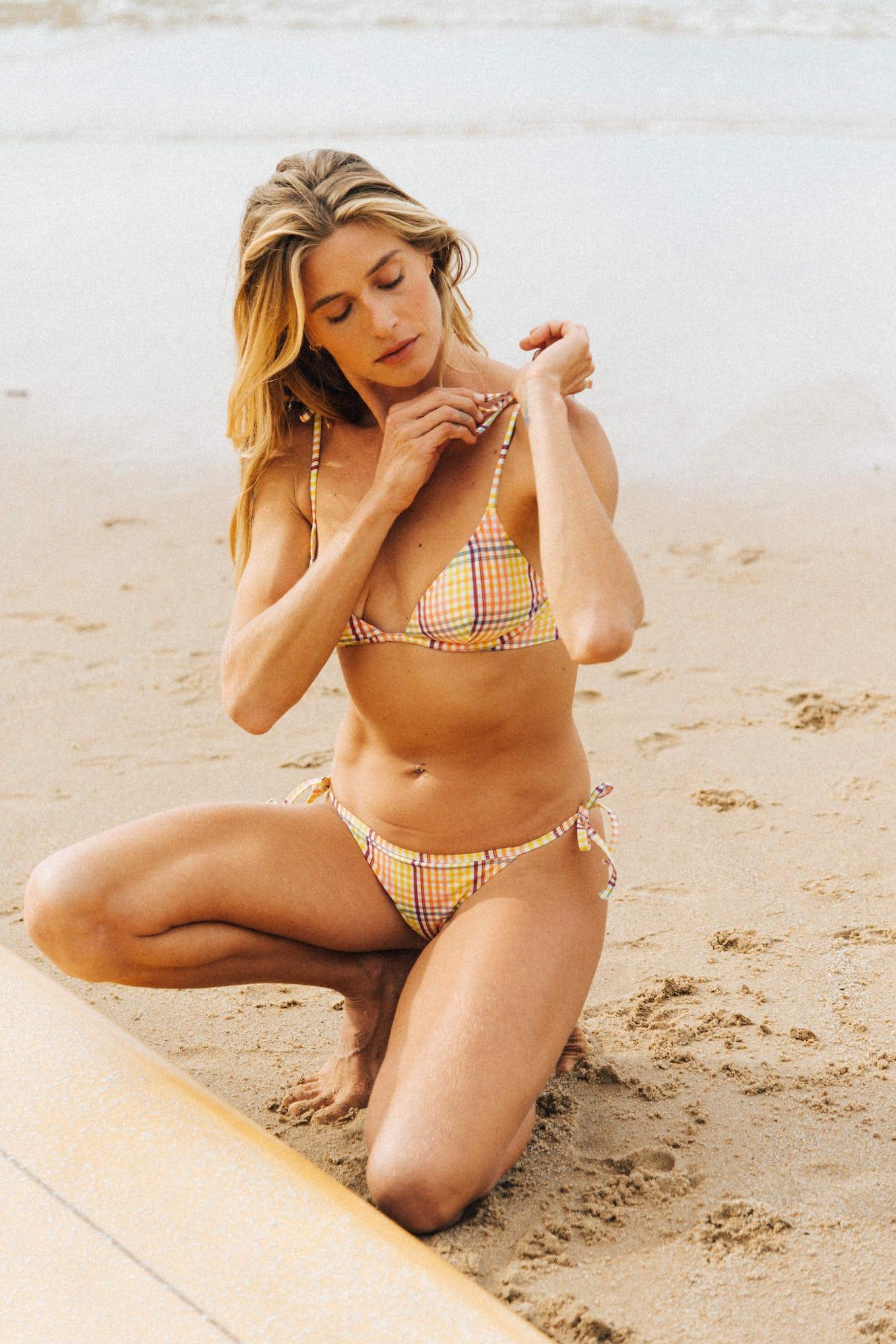 Bikini Soleil sur l'eau yellow