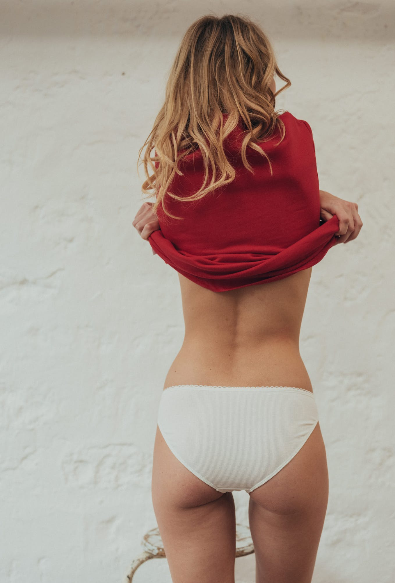 Embroidered briefs Histoire de corps Amour