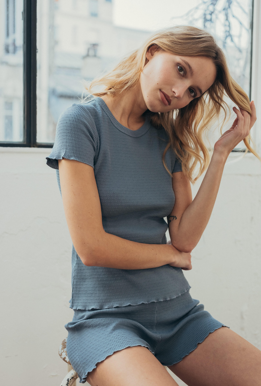 Histoire de corps tee-shirt in storm grey