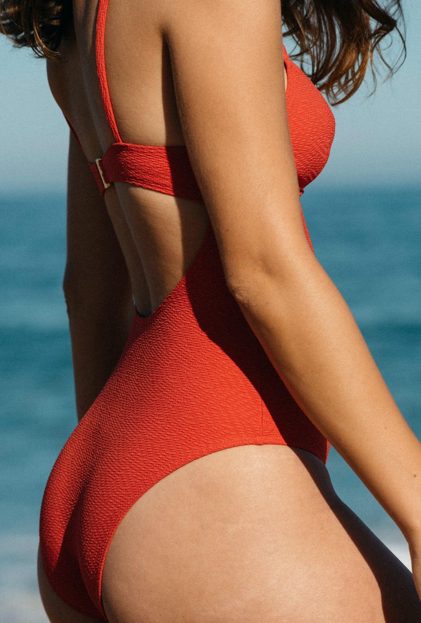 Swimsuit Horizon doux coral