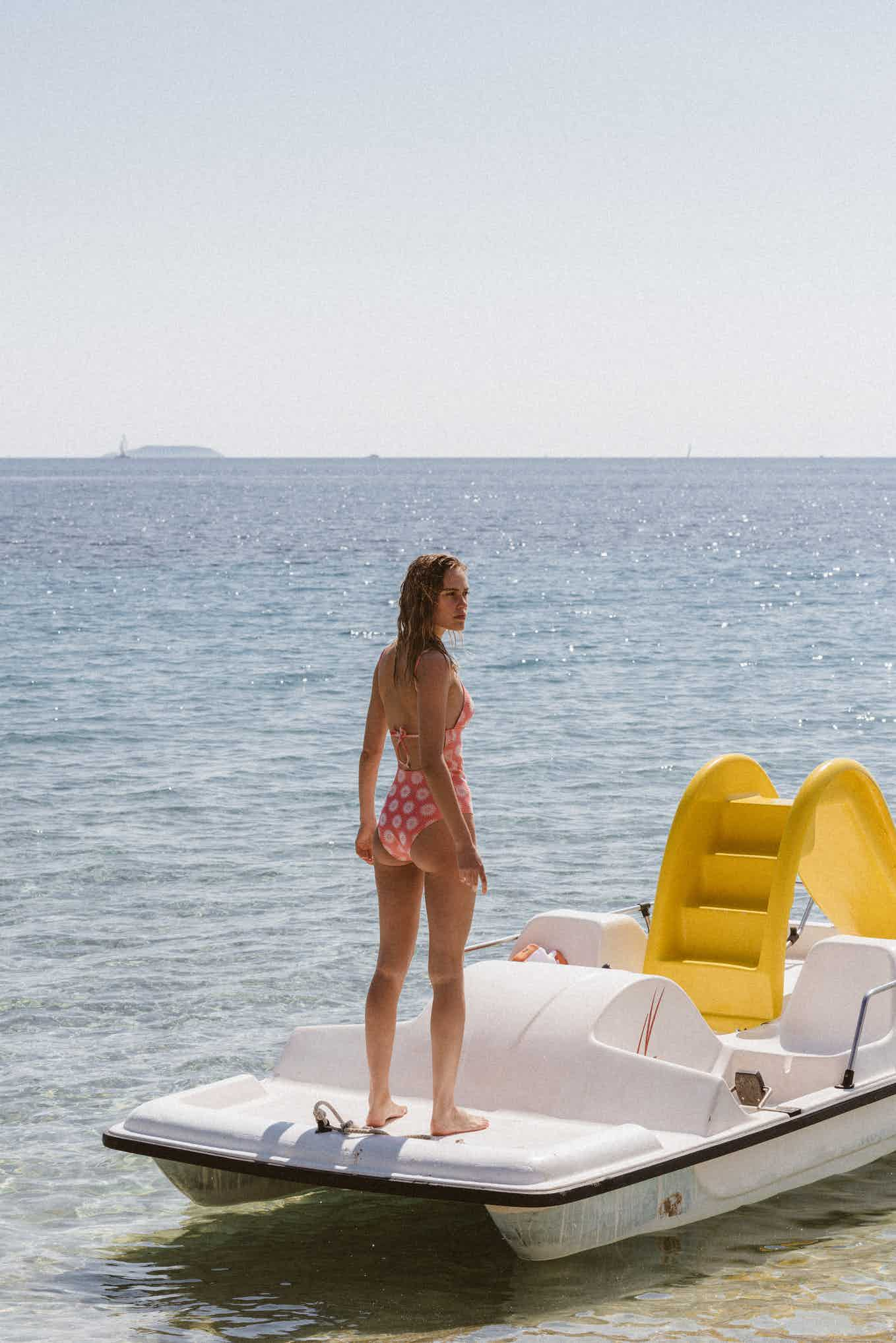 Swimsuit Horizons doux pink
