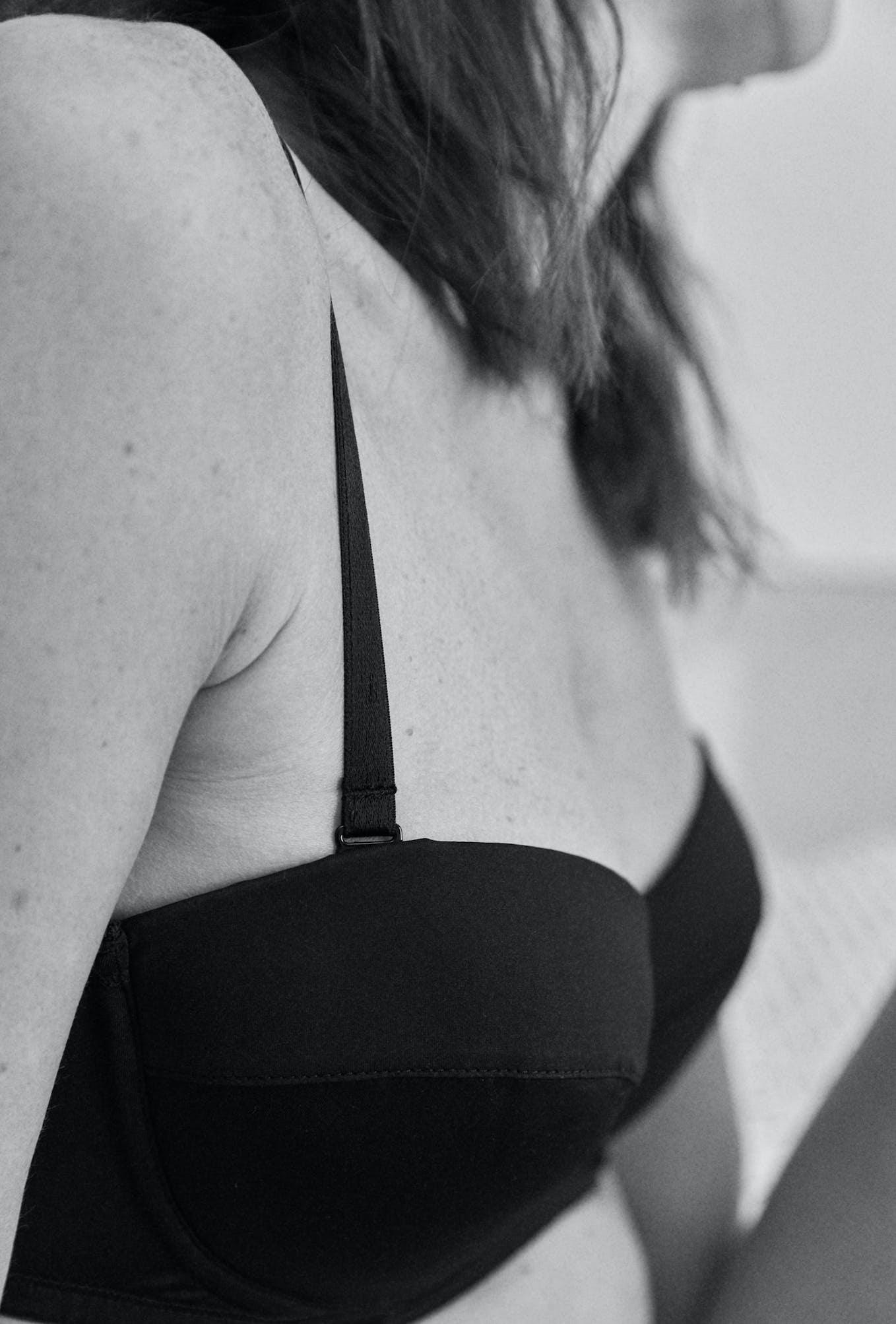 Bandeau bra Histoire de femmes in black