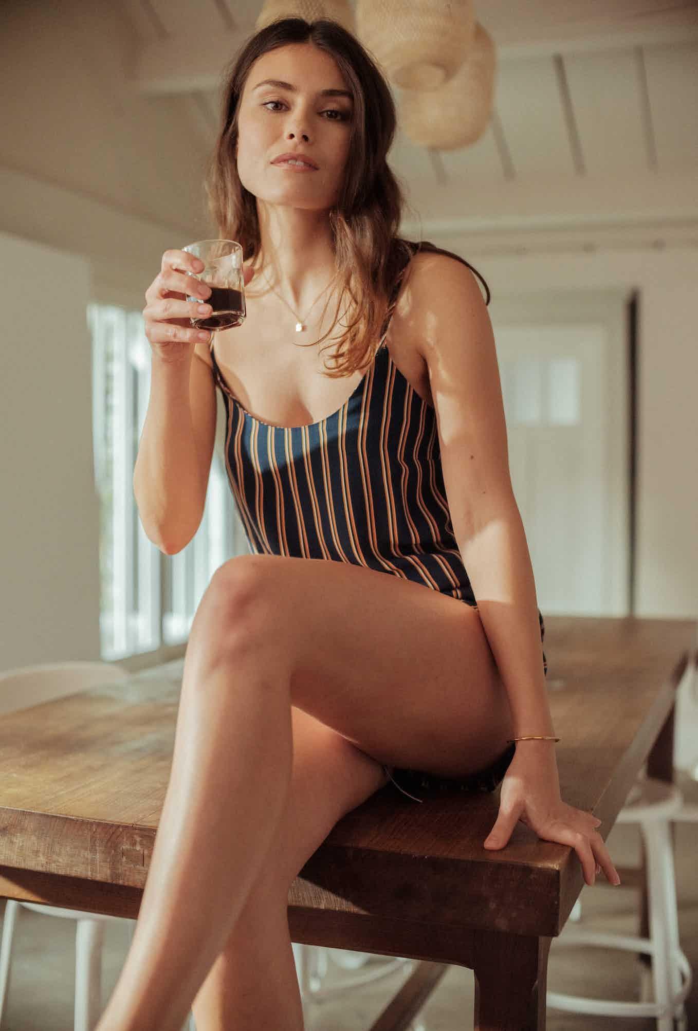 Homewear Camisole top Songe de nuit in Dandy print