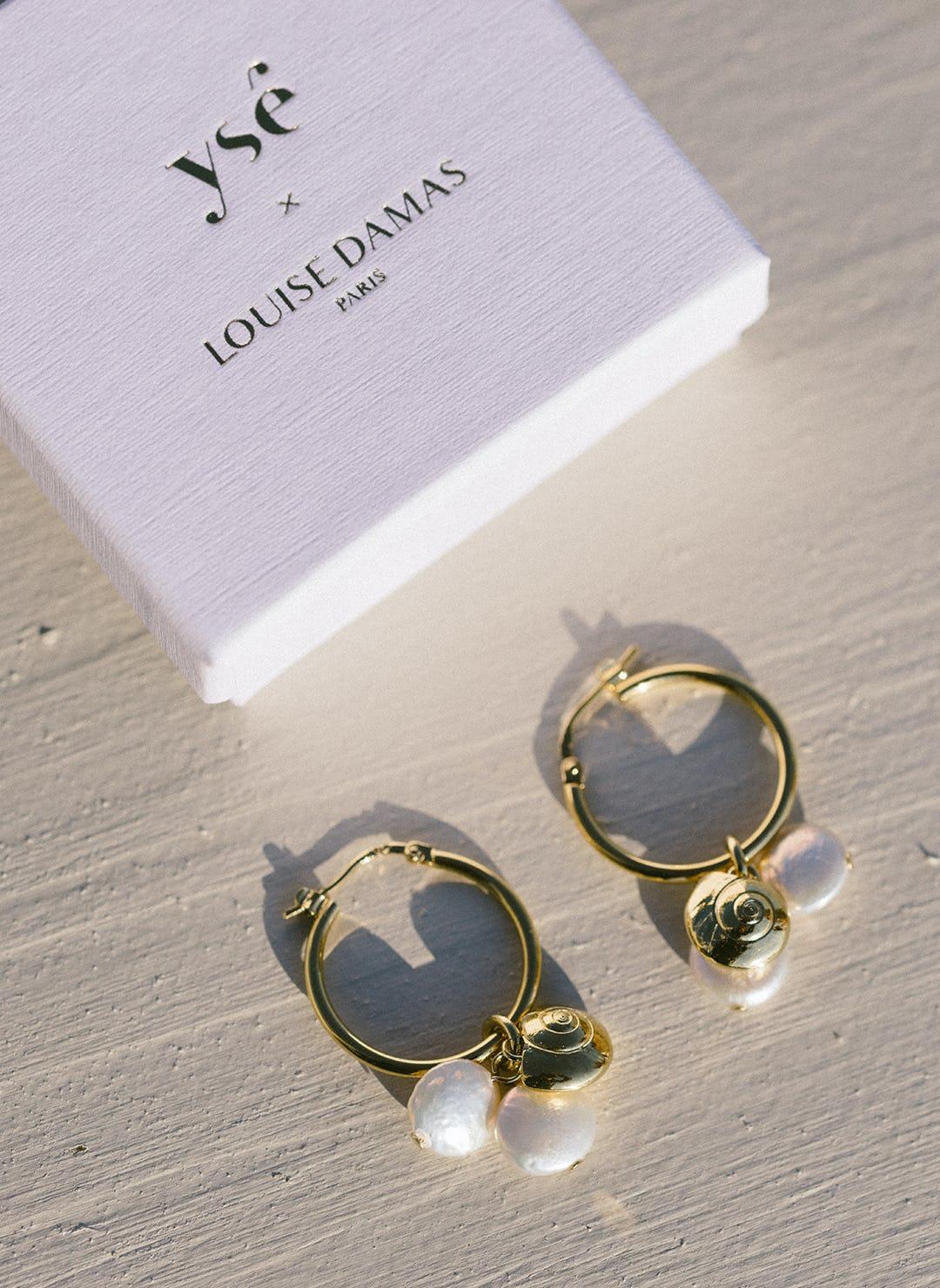 Boucles d'oreille Louise Damas