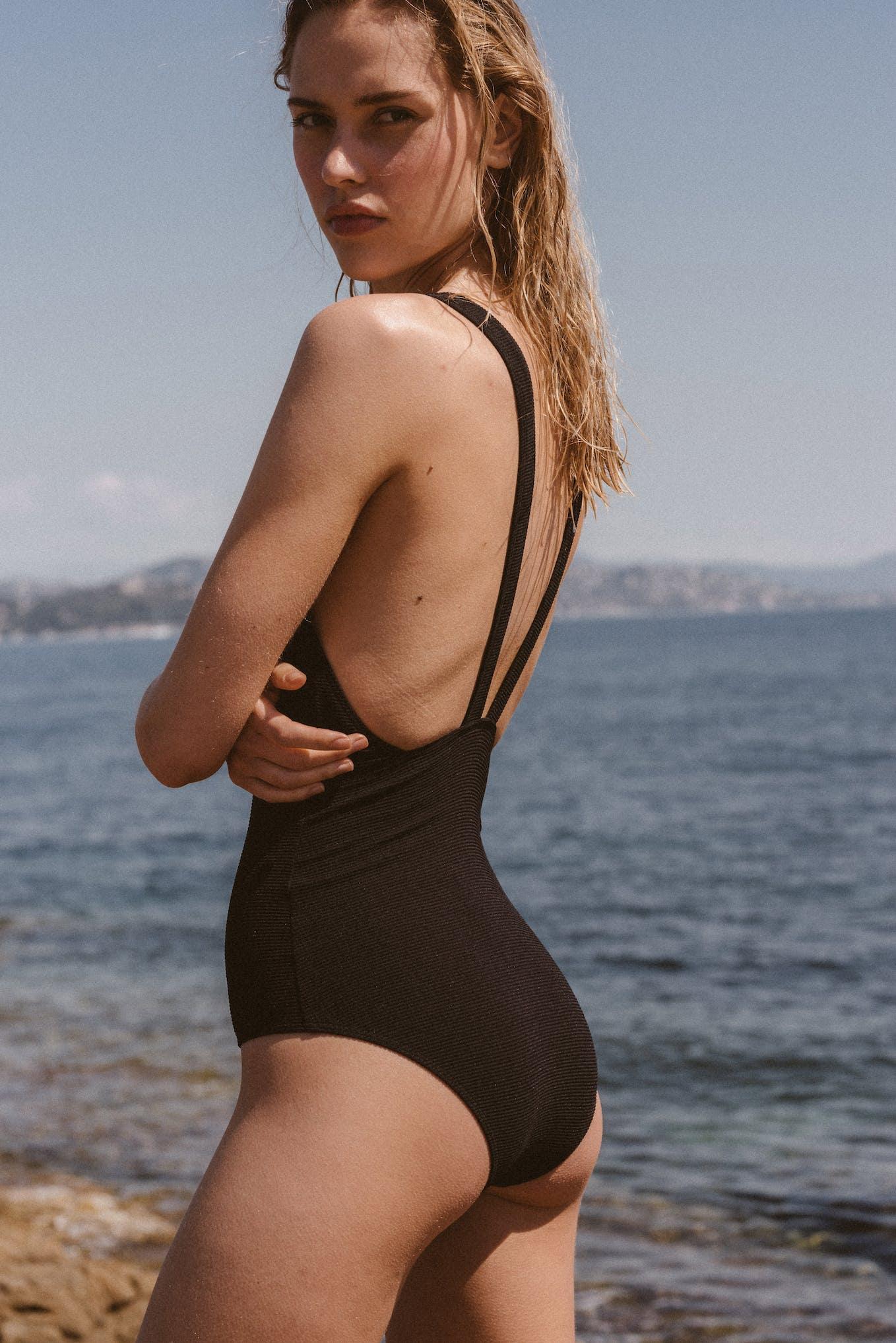 Swimsuit Paradis terrestre black