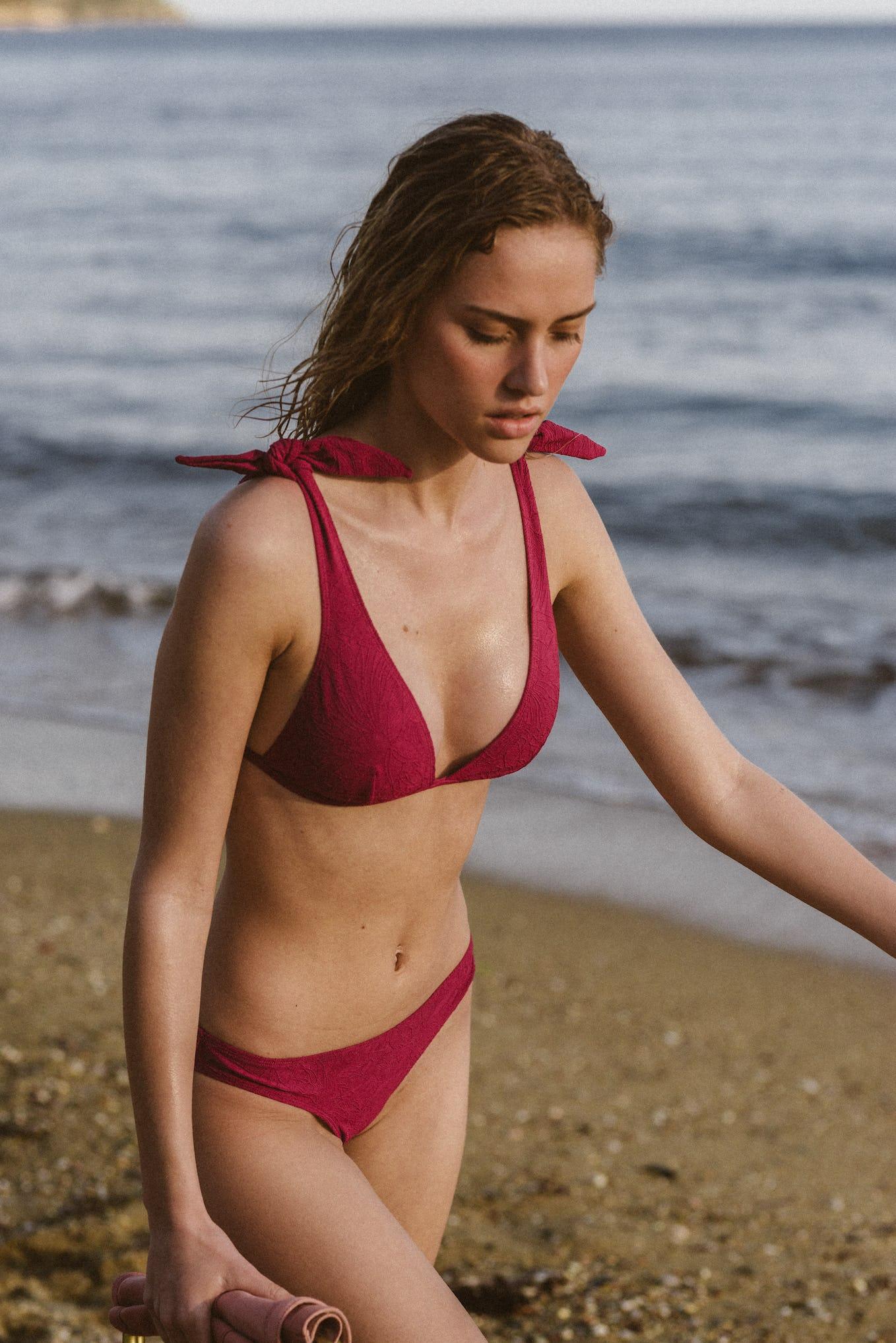 Swimsuit Sur le sable in fuchsia