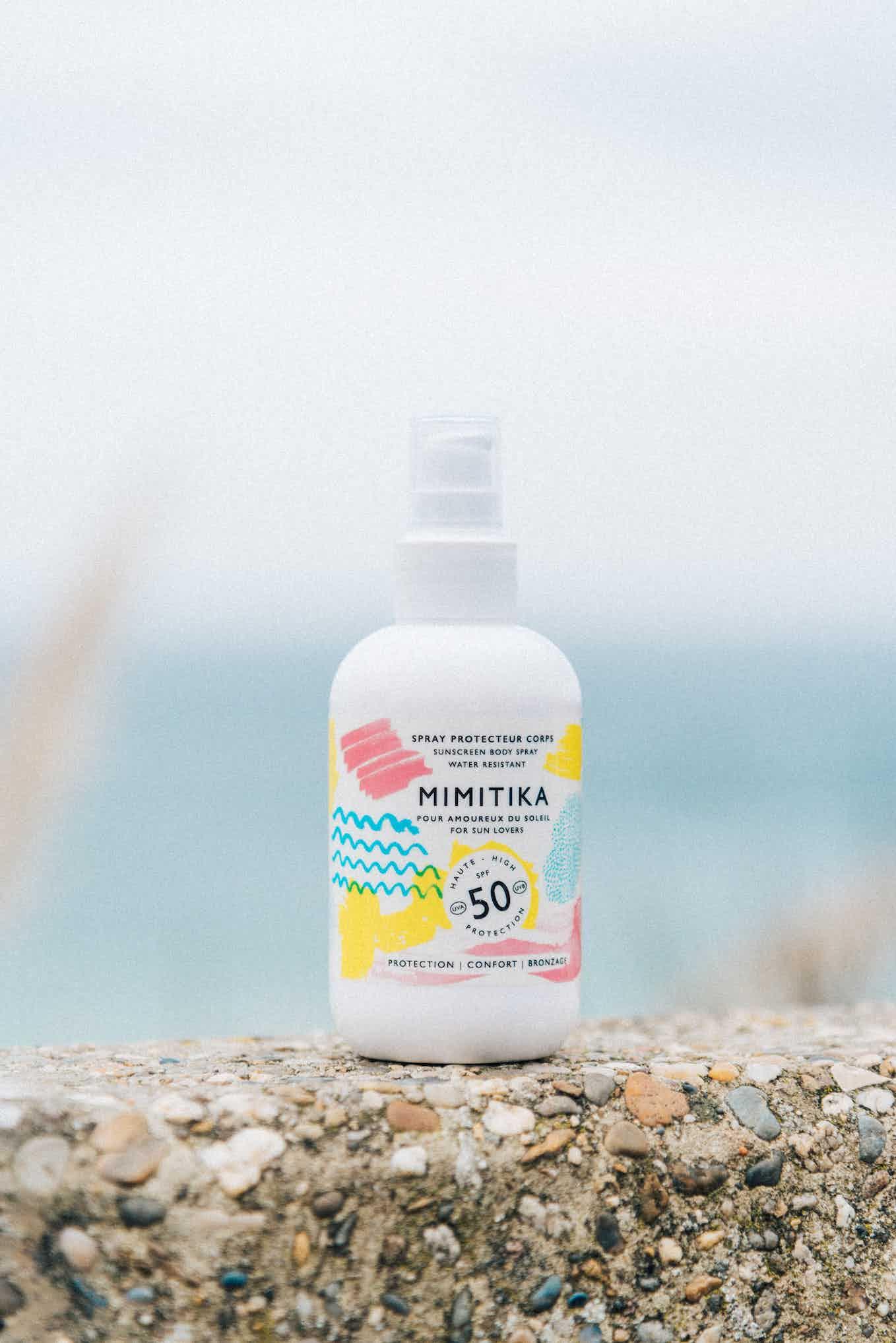 Spray corps SPF50 Mimitika 200ML