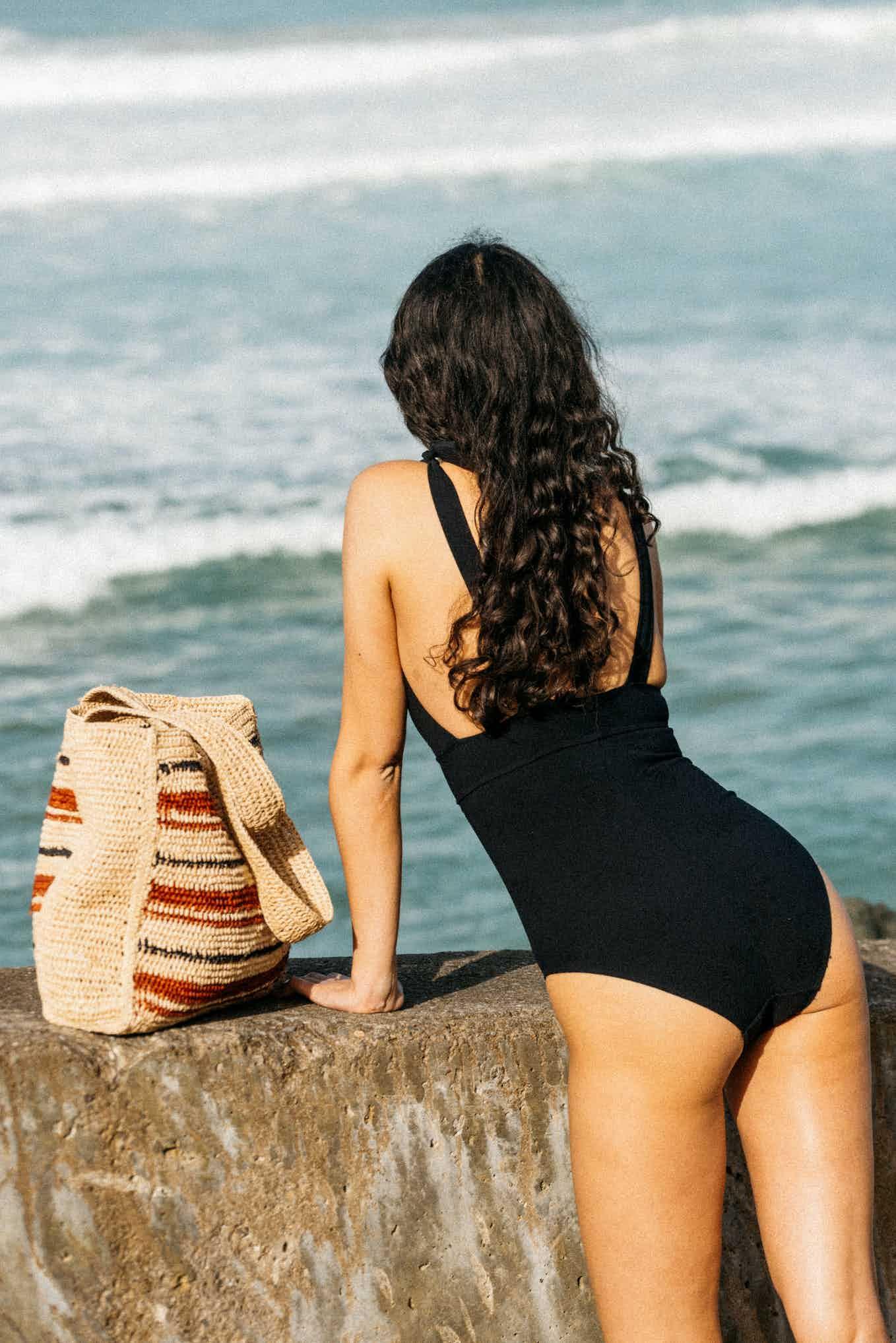 Beach basket Mirabelle