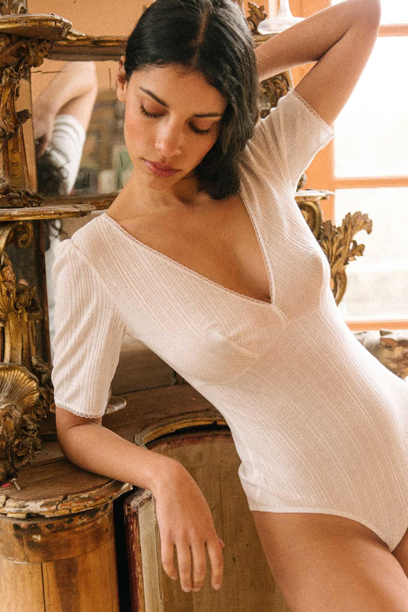 Body Tamara en ivoire