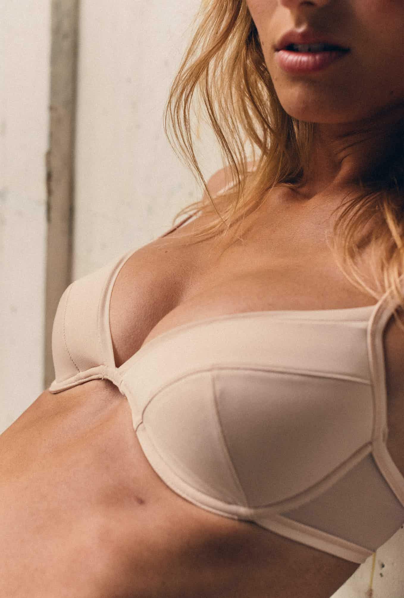 Push-up bra Histoire de femmes in powdery pink