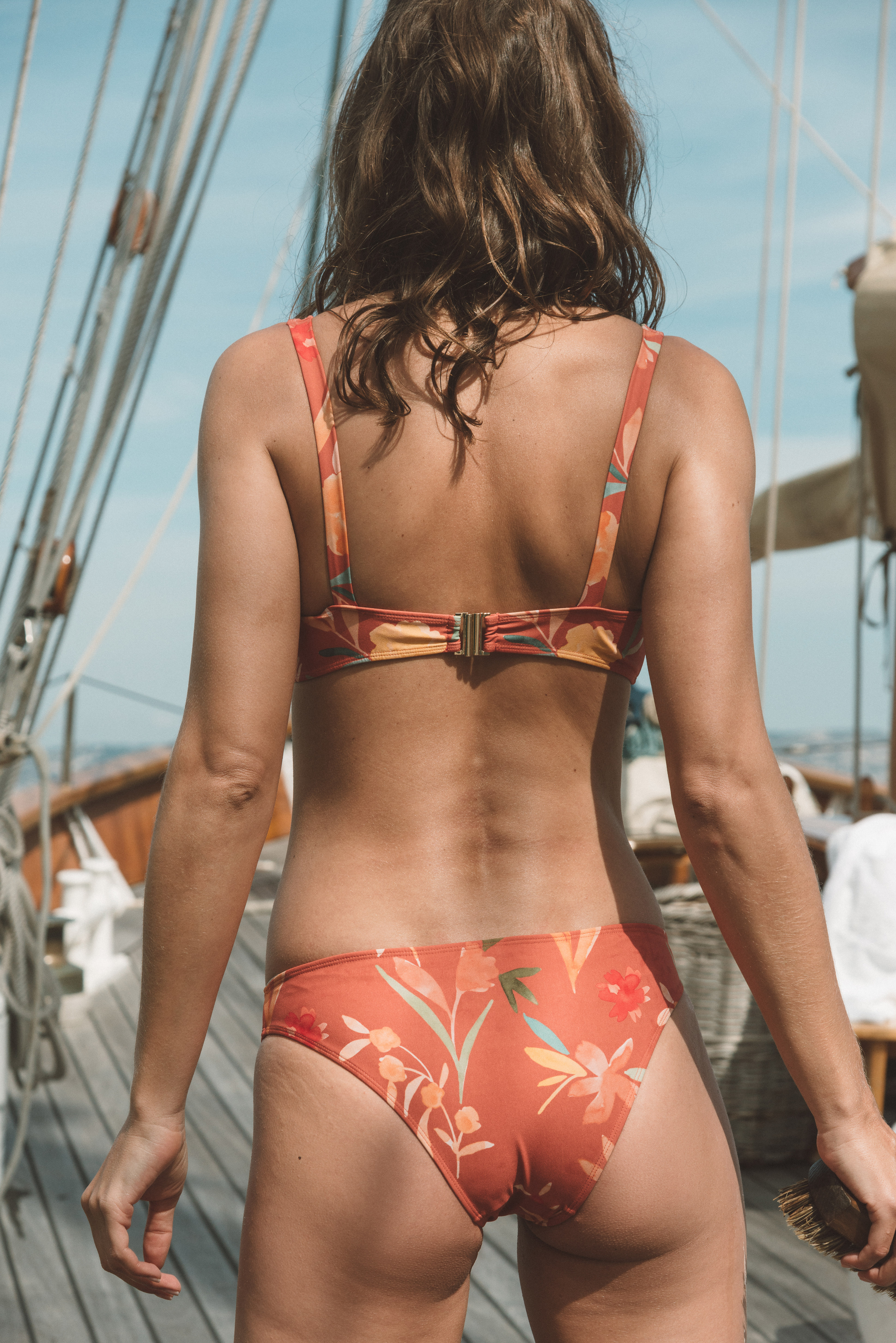 Swimsuit Beauté insulaire Herbes folles print
