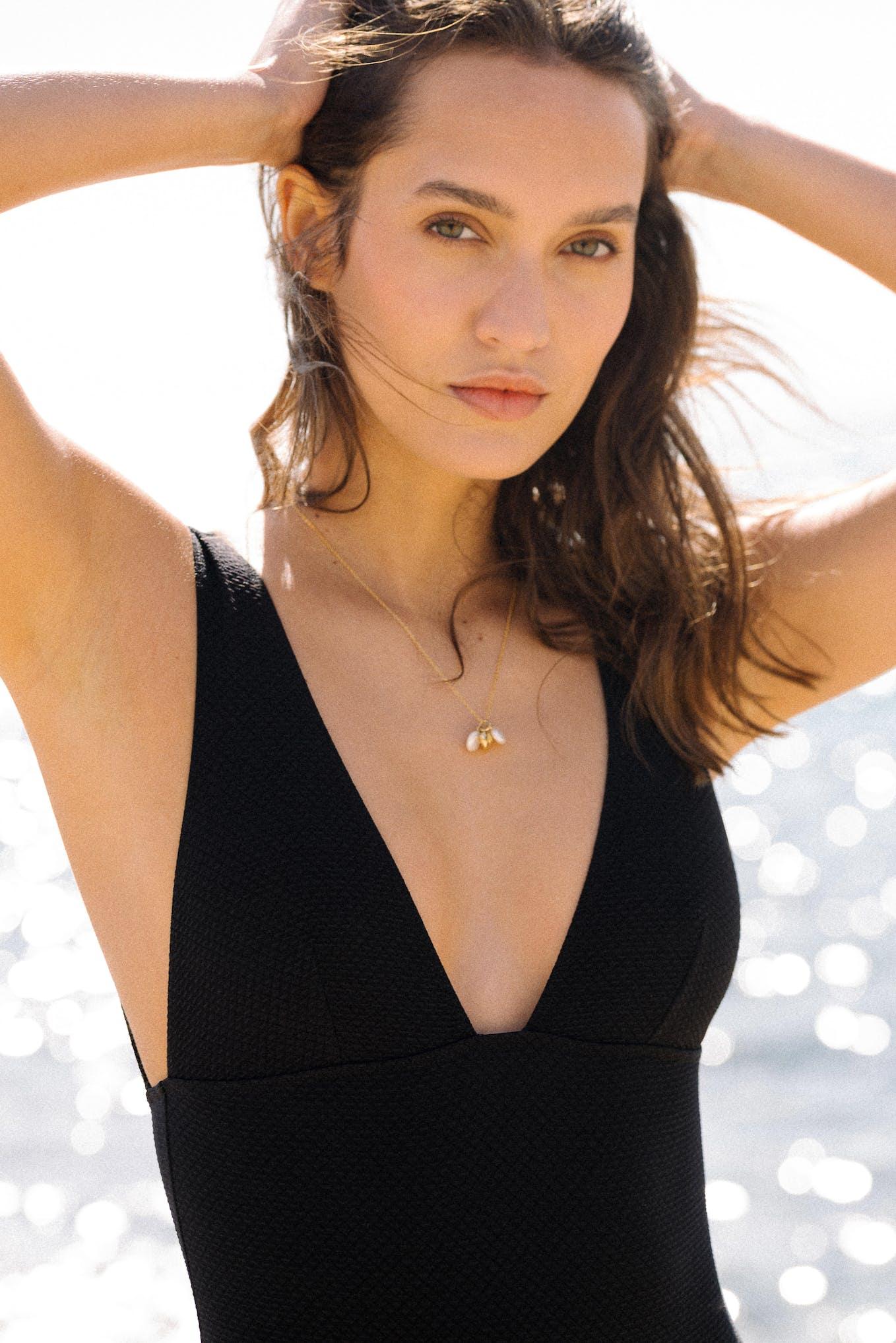 Rêve d'horizon black swimsuit