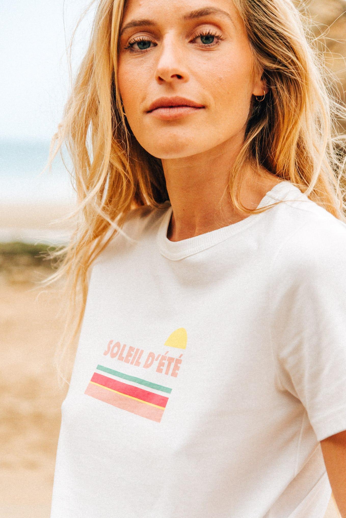 tee shirt soleil d'été