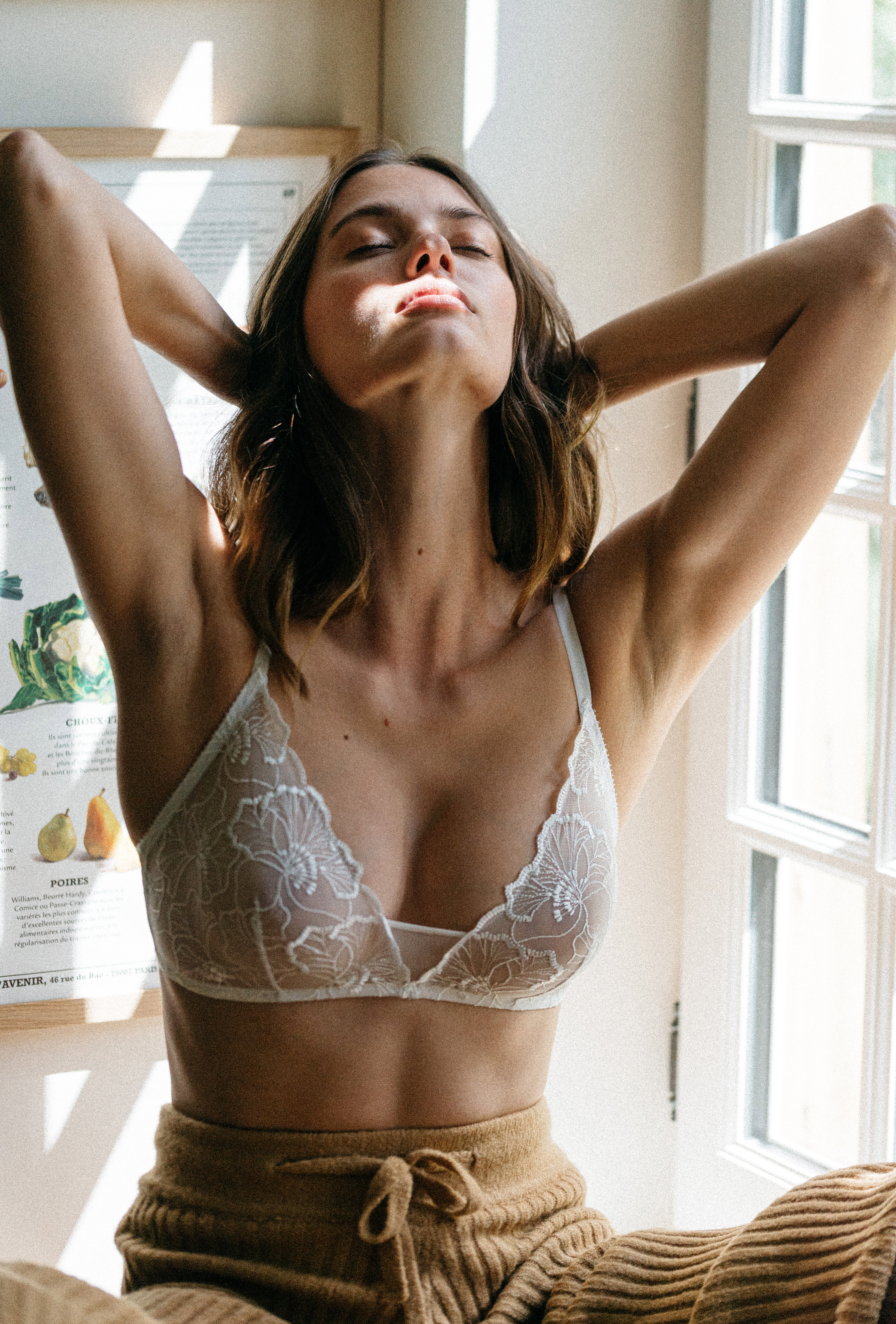 Triangle bra Source d'amour ivory