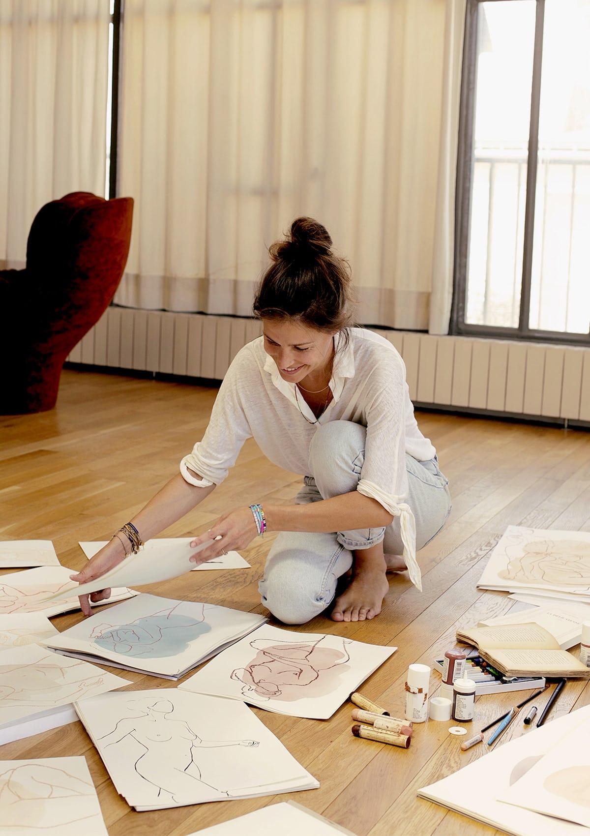 Ysé artiste Faustine Badrichani - Histoire de Femmes