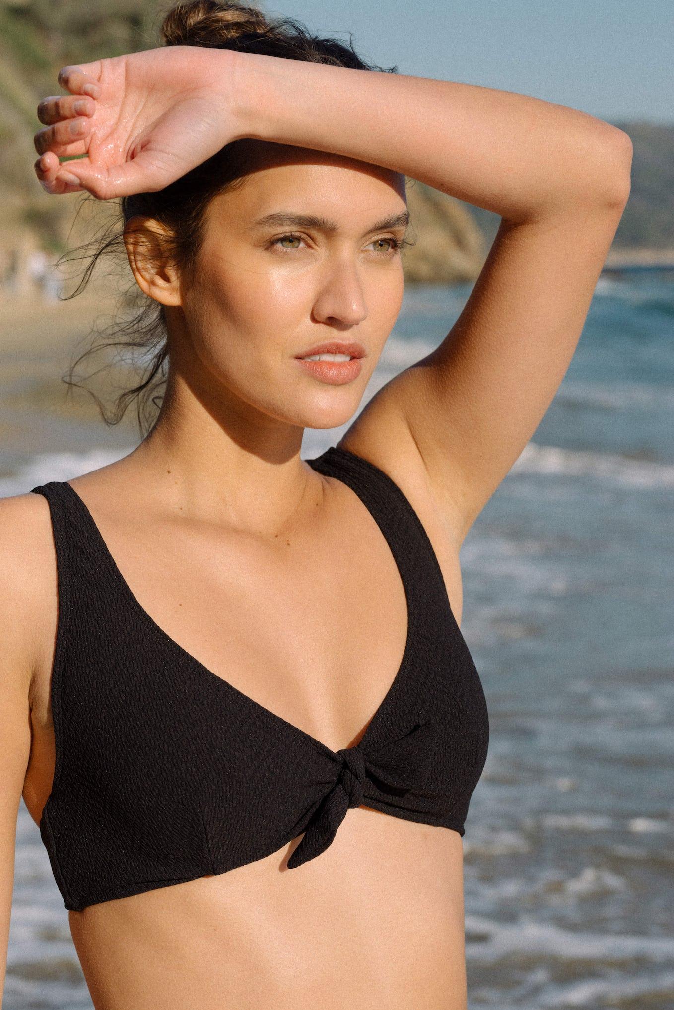 Maillot Beauté insulaire noir