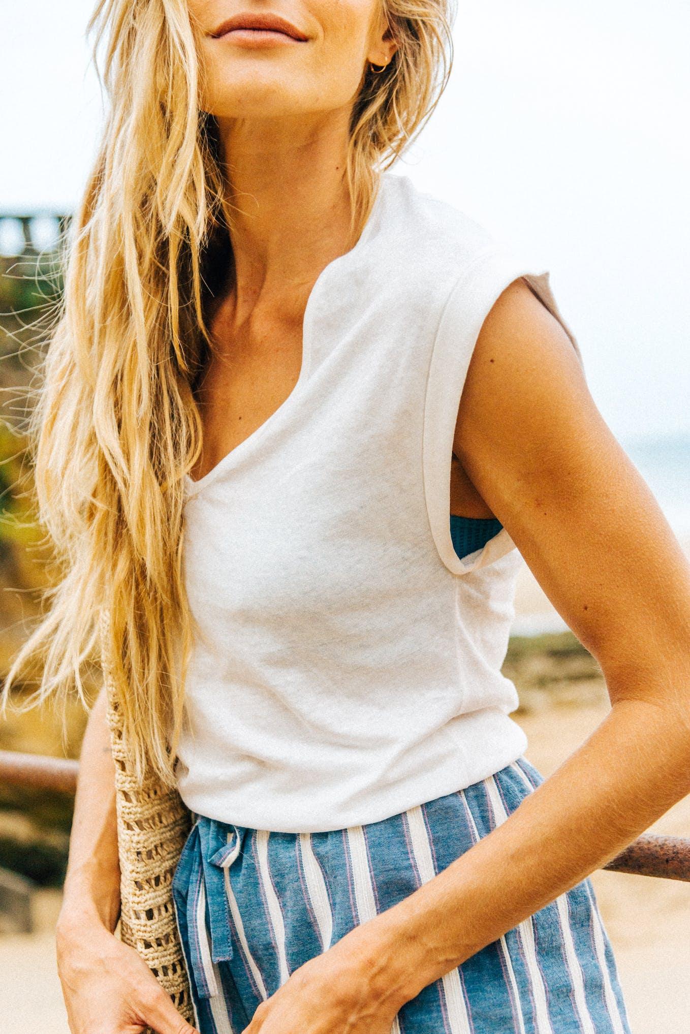 Tee-shirt Balade rêveuse ivoire