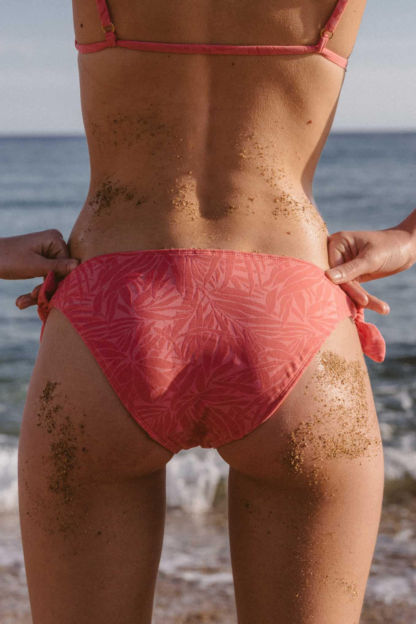 Swimsuit Sous le palmier Candy pink