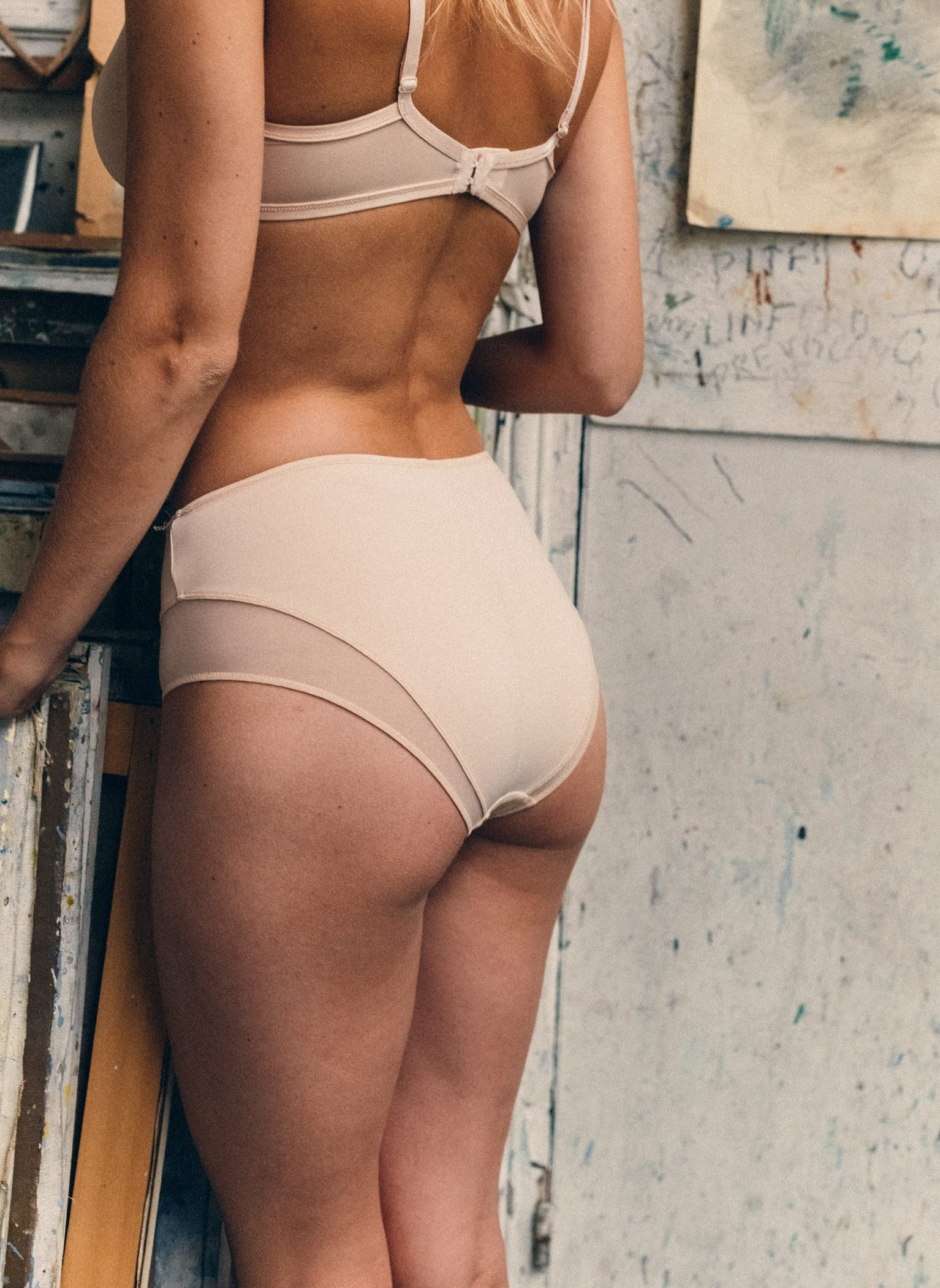 Culotte Haute histoire de femmes Nude