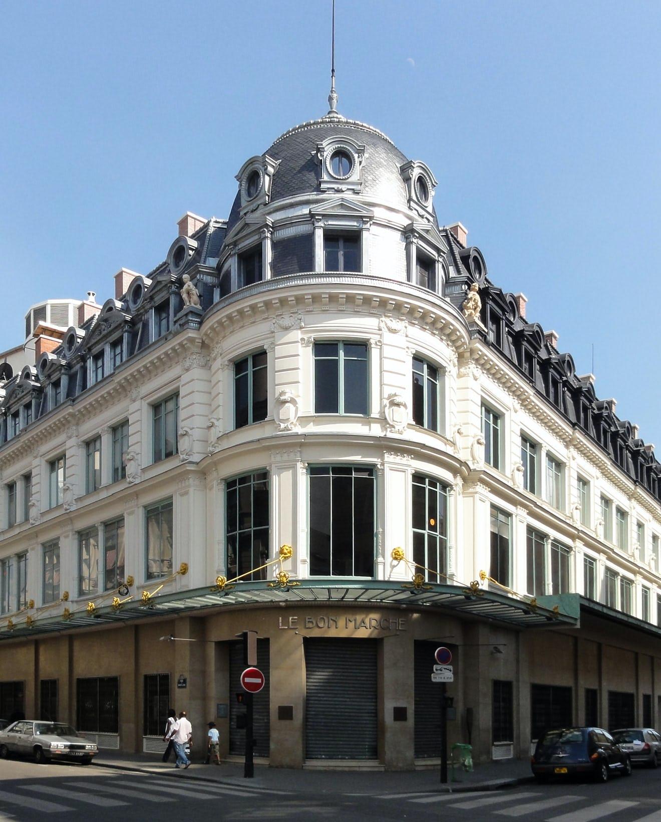 Le Bon Marché Rive gauche Paris