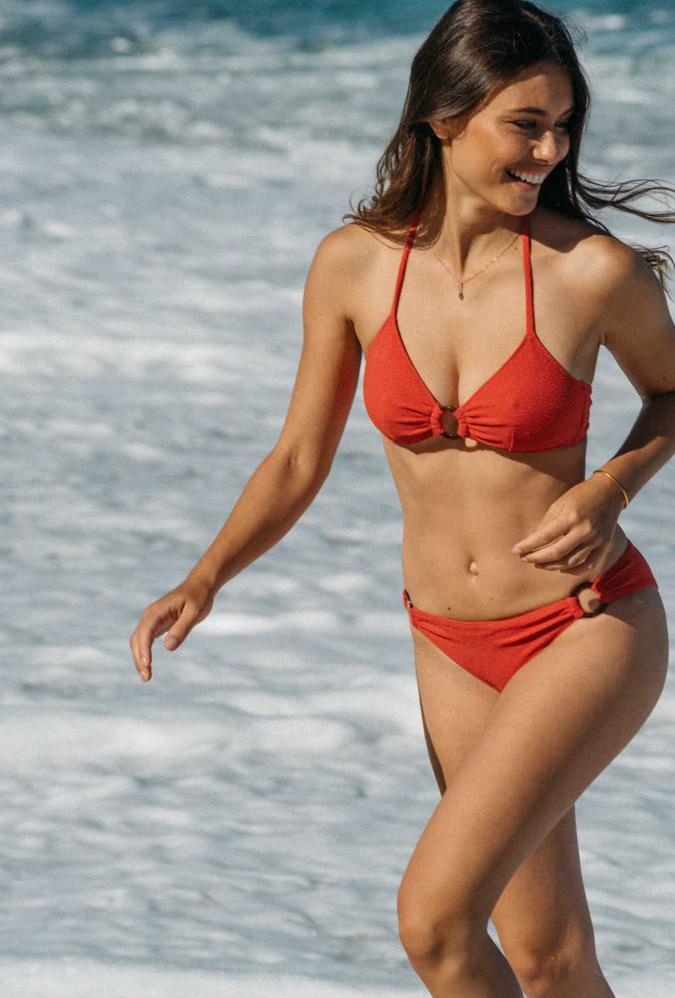 2 piece swimsuit Horizon doux in coral