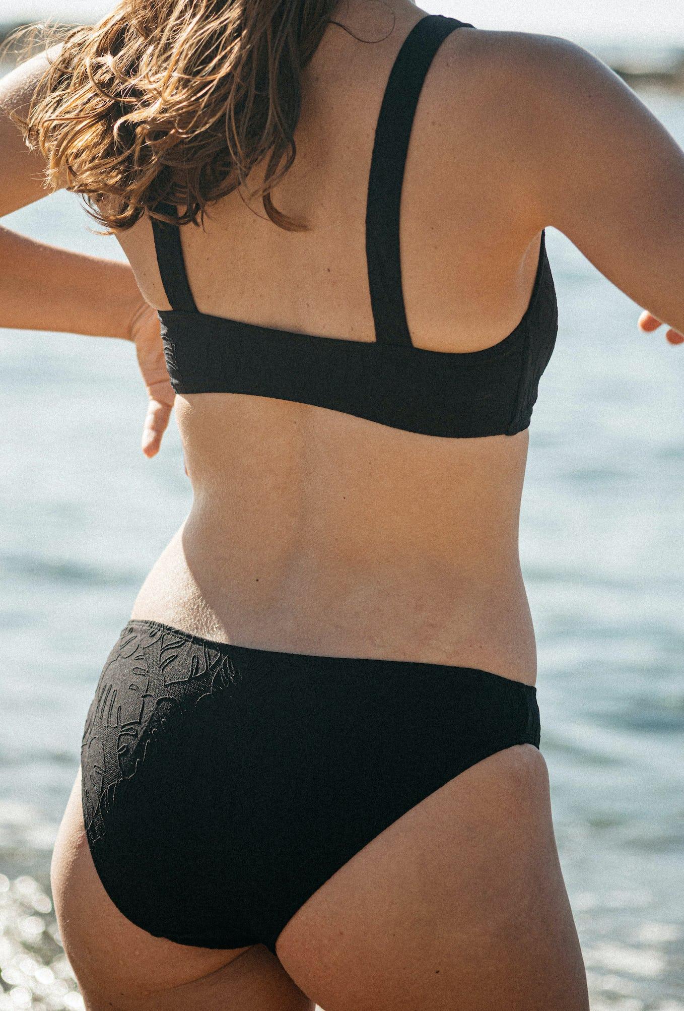 2- piece bikini les soirs d'été in black