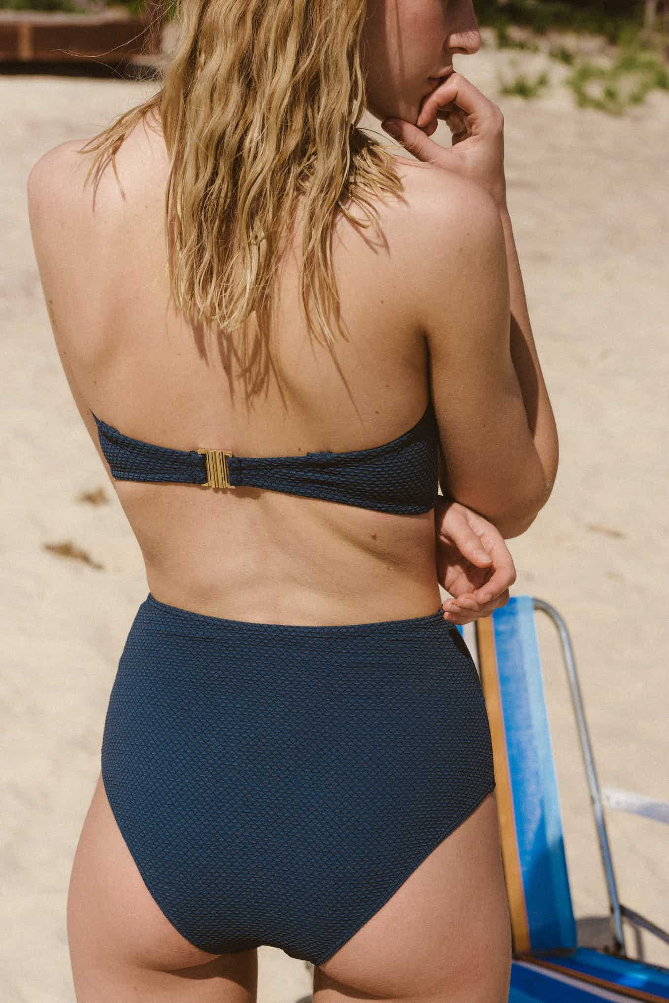 Swimsuit Rêve d'horizon in petrol blue