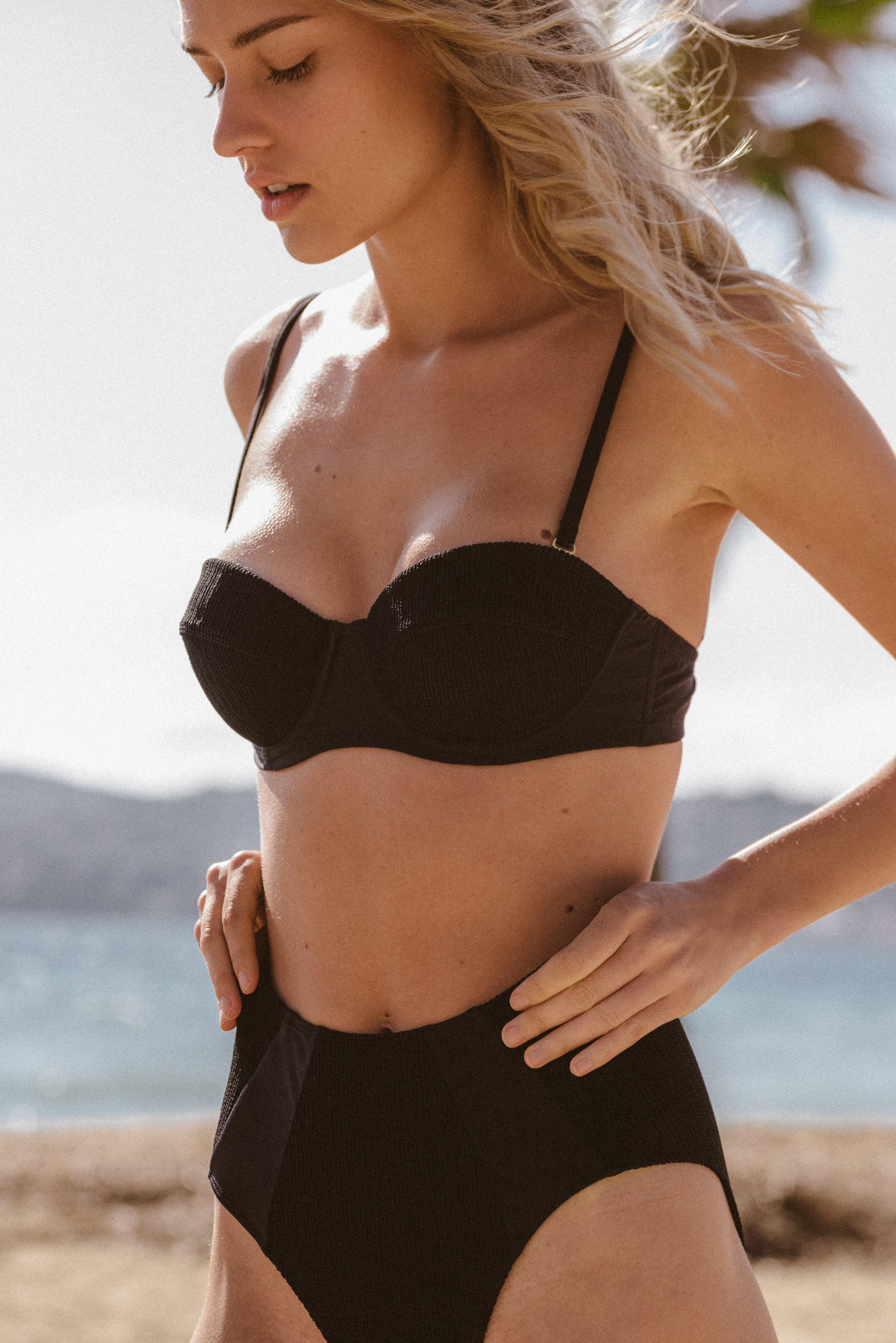 Swimsuit Soleil brûlant black