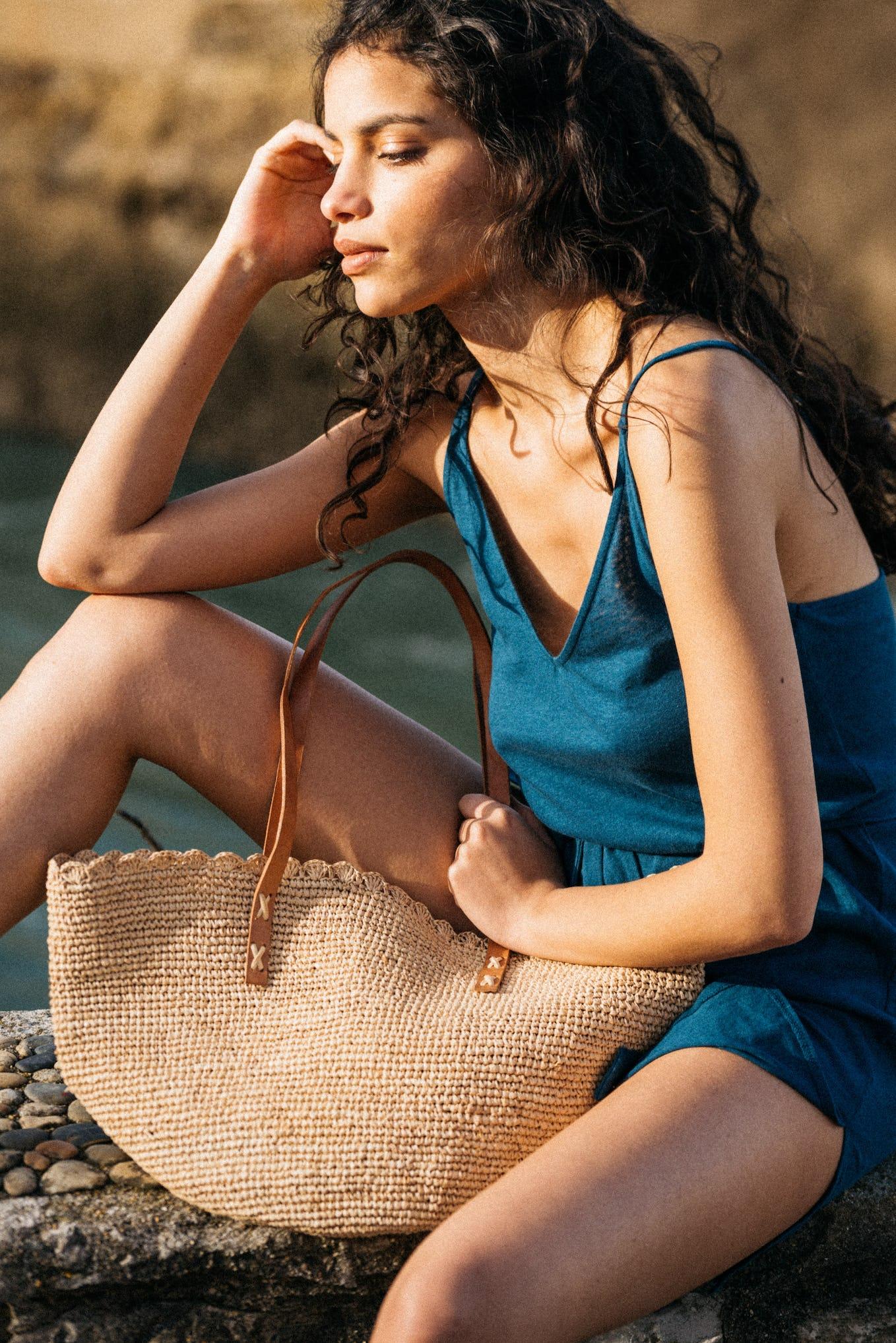 Dress Balade rêveuse Petrol Blue