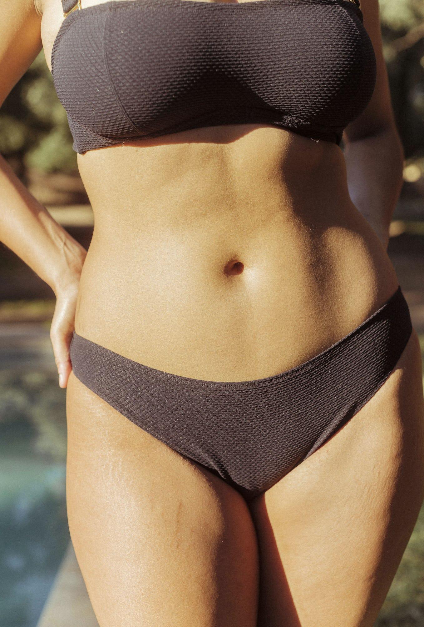 2 piece swimsuit Rêve d'horizon in black