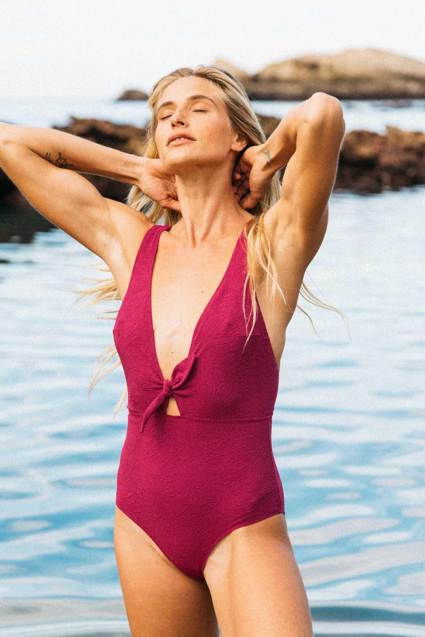 Swimsuit Sur le sable Fuchsia