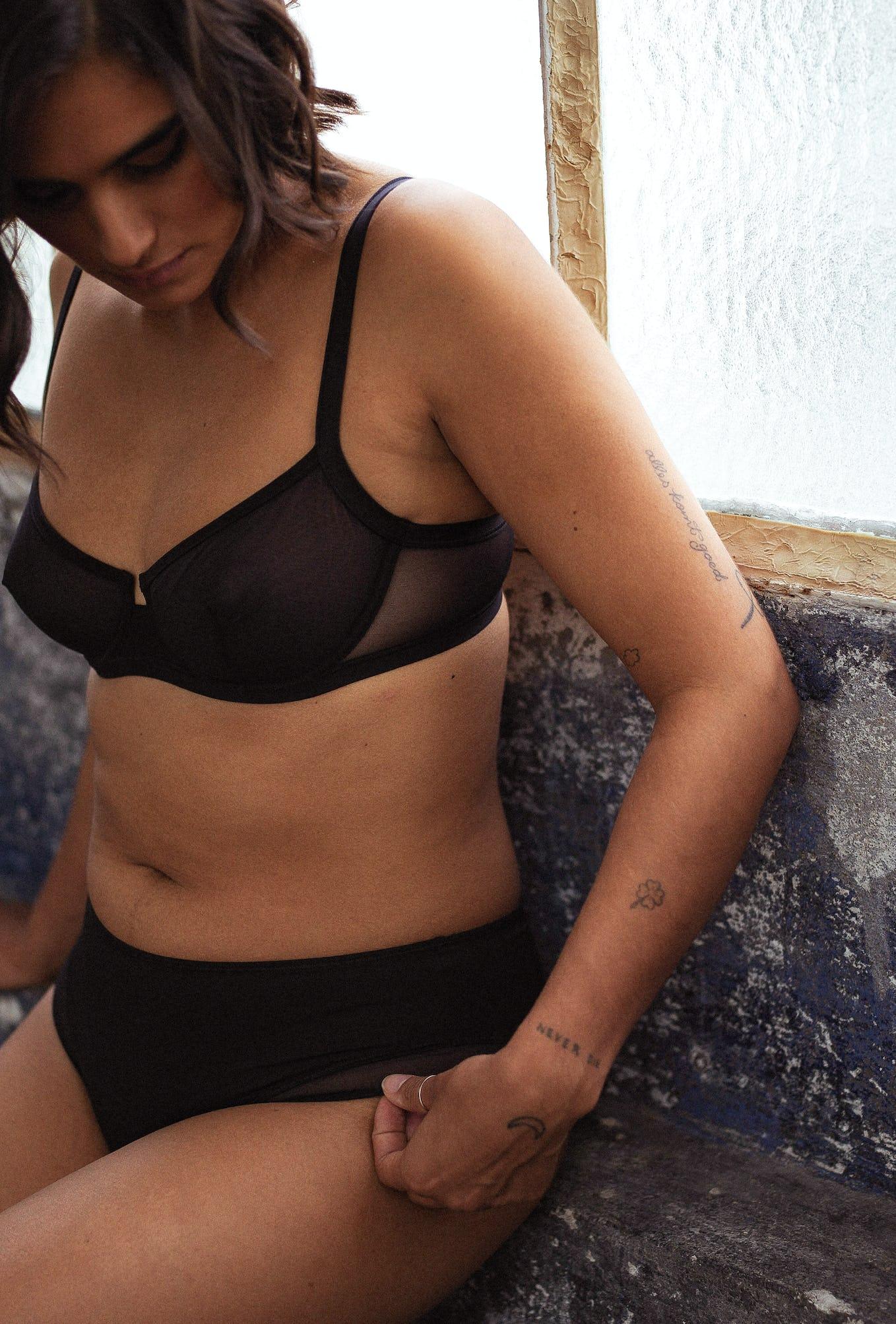Lingerie set Histoire de femmes in black