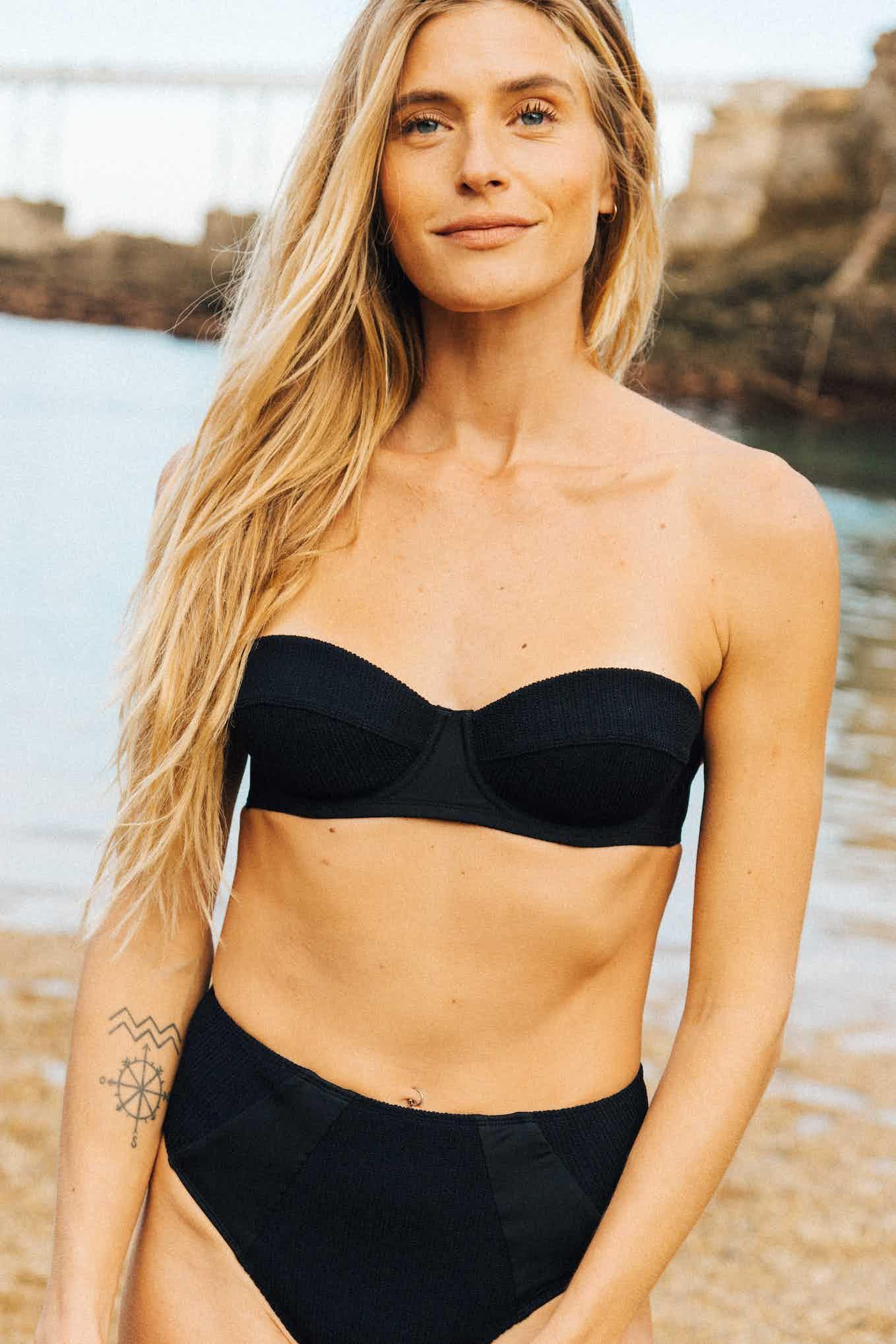 Bikini Soleil brûlant in black