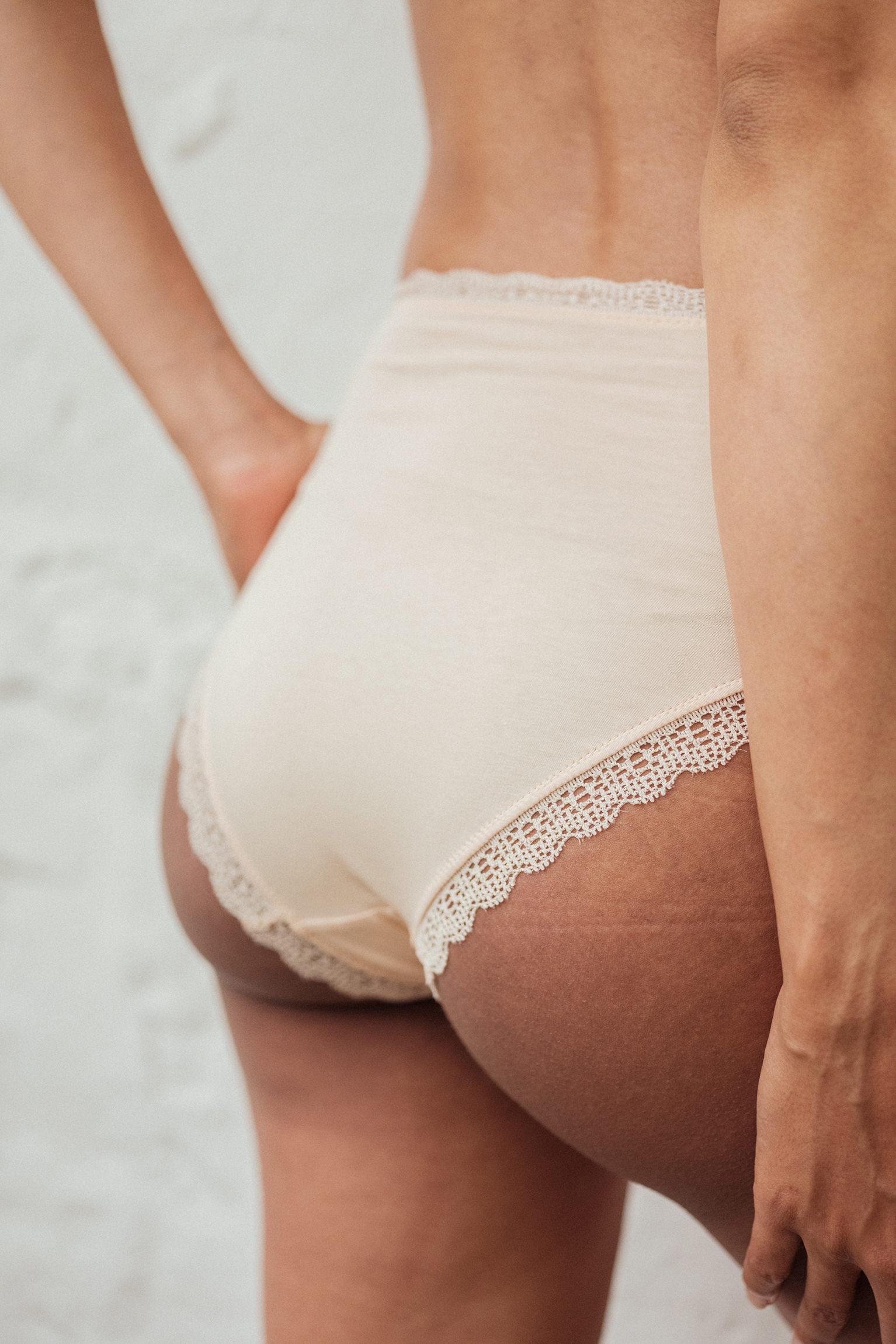 Culotte haute une chanson douce nude