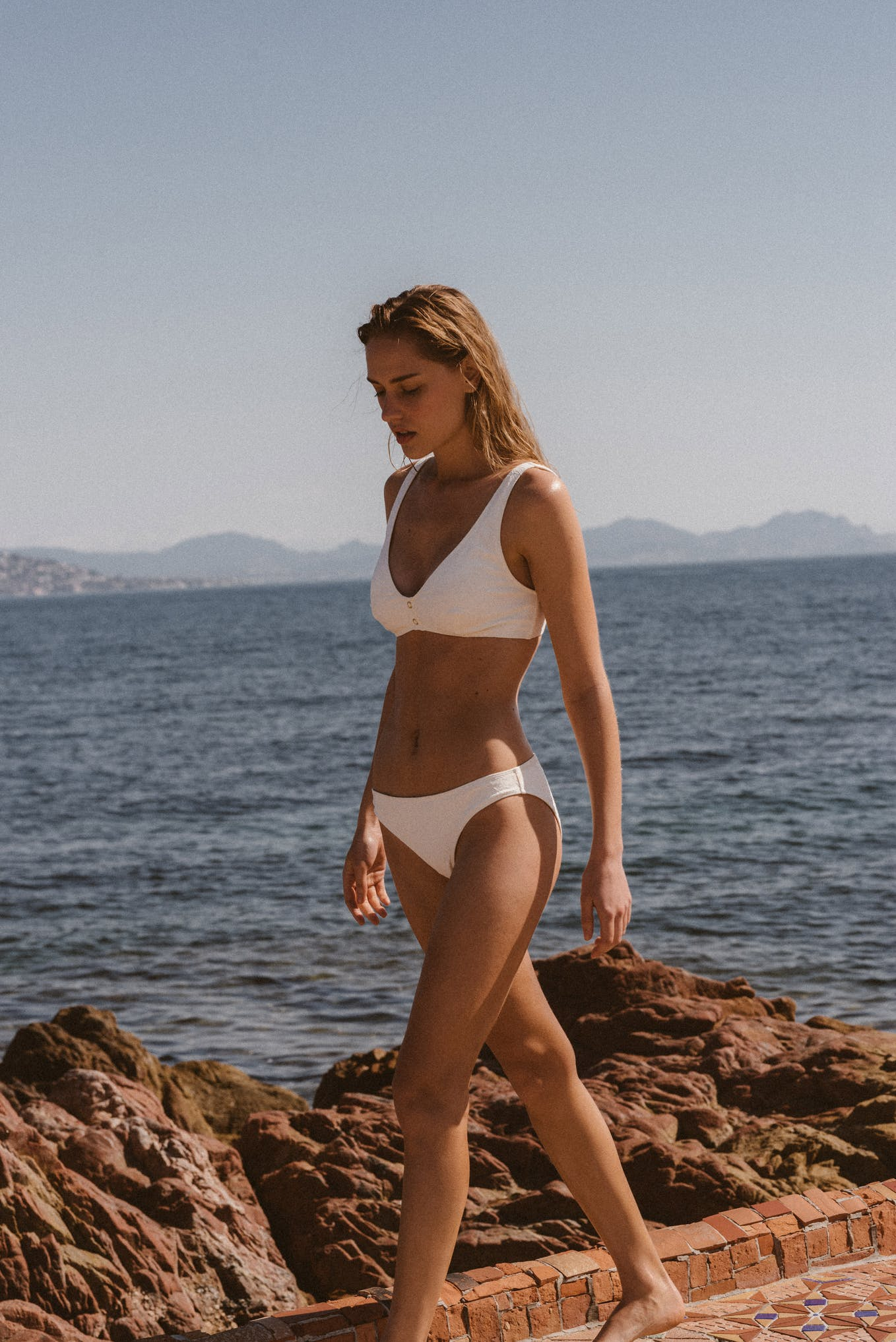 Swimsuit Partir avec toi white