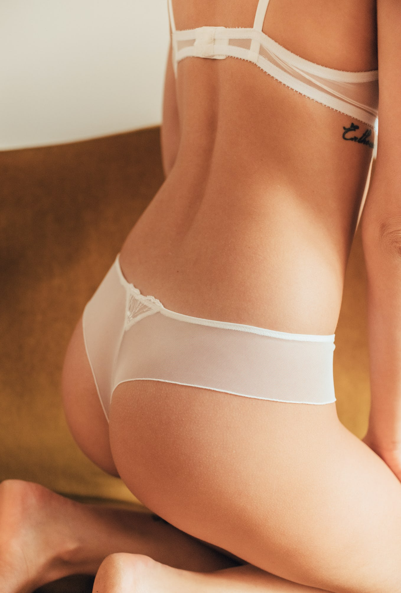 Tanga briefs Source d'amour ivory