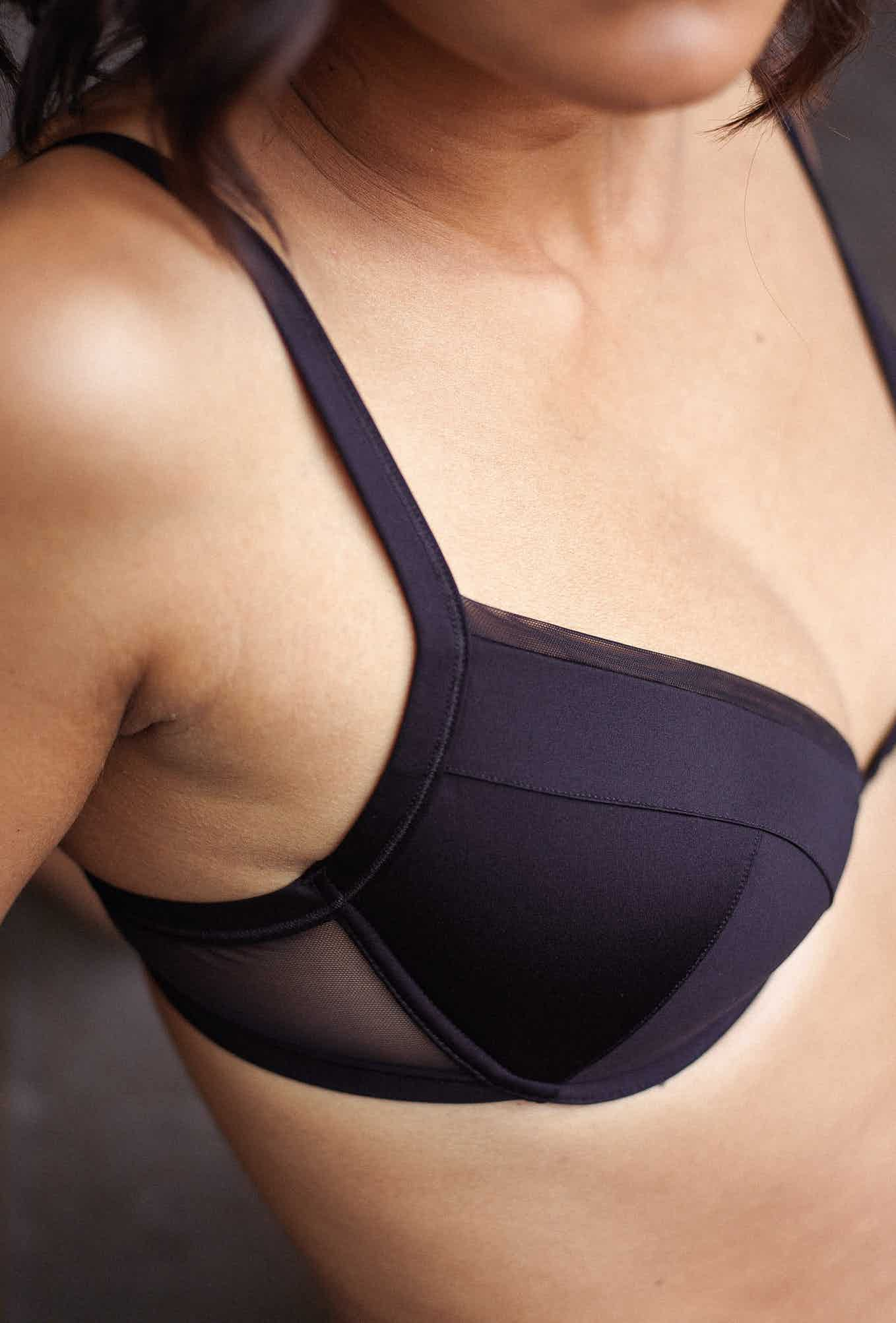 Push-up bra Histoire de femmes in black