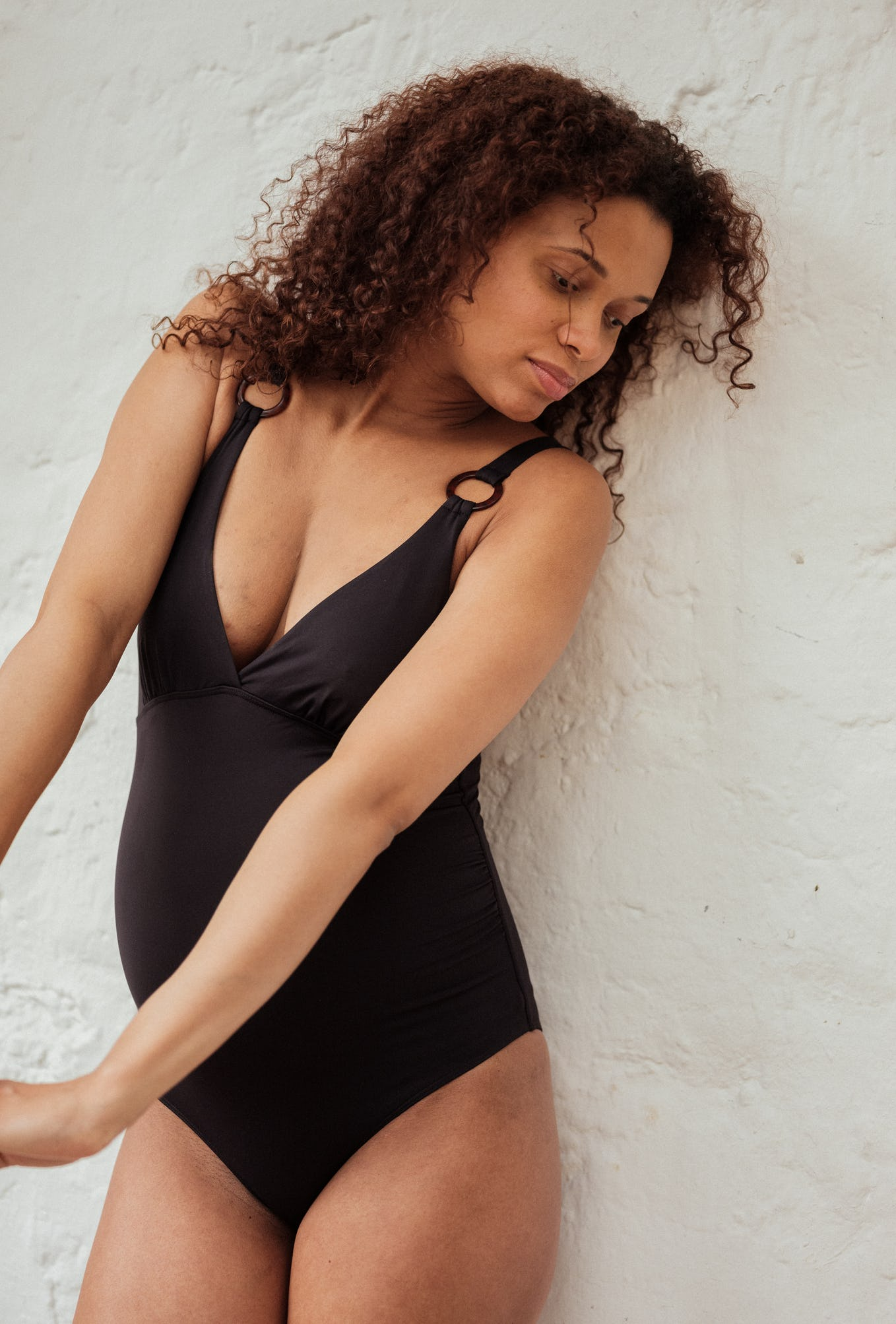 Swimsuit Une chanson douce in black