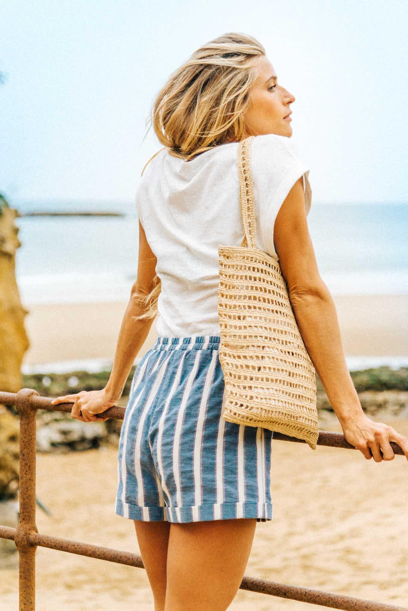 Beach basket Manon