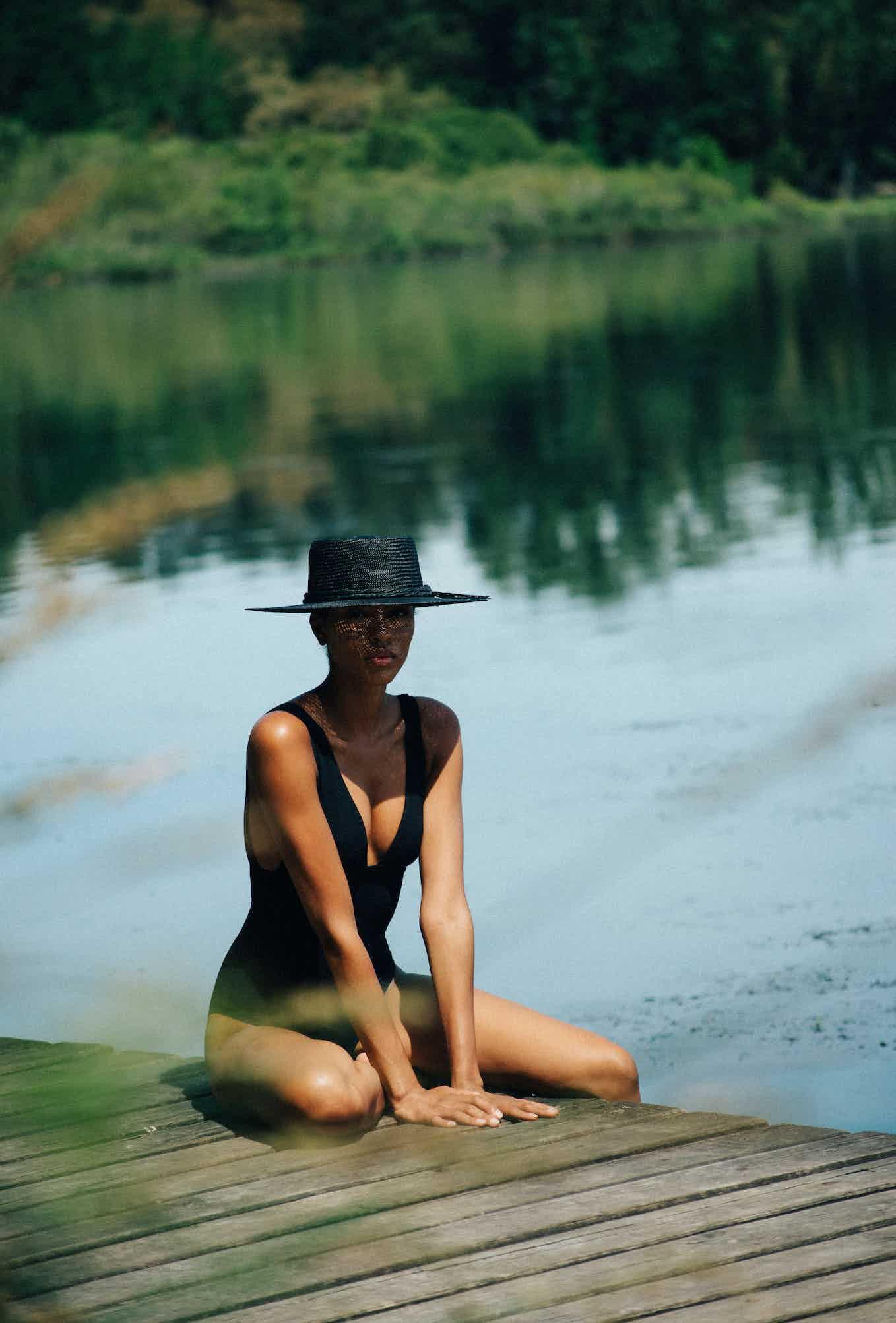 Swimsuit Rêve d'horizon black