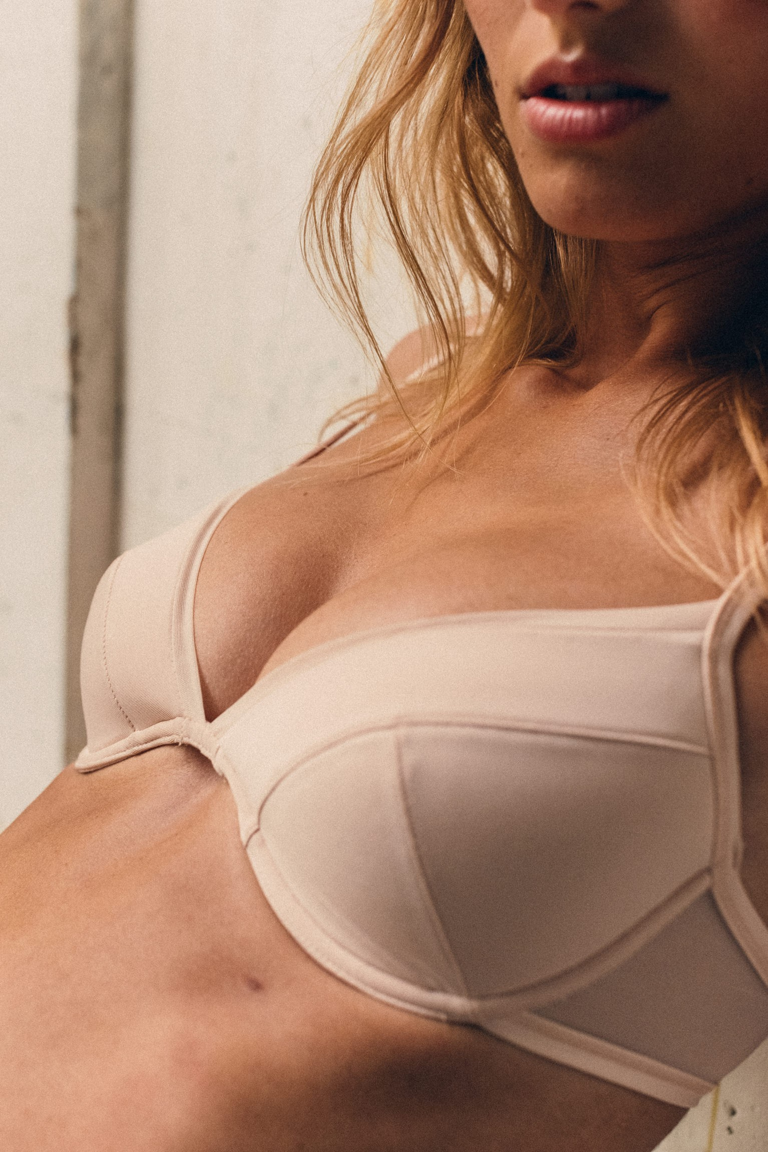 Push Up bra Histoire de femmes light beige