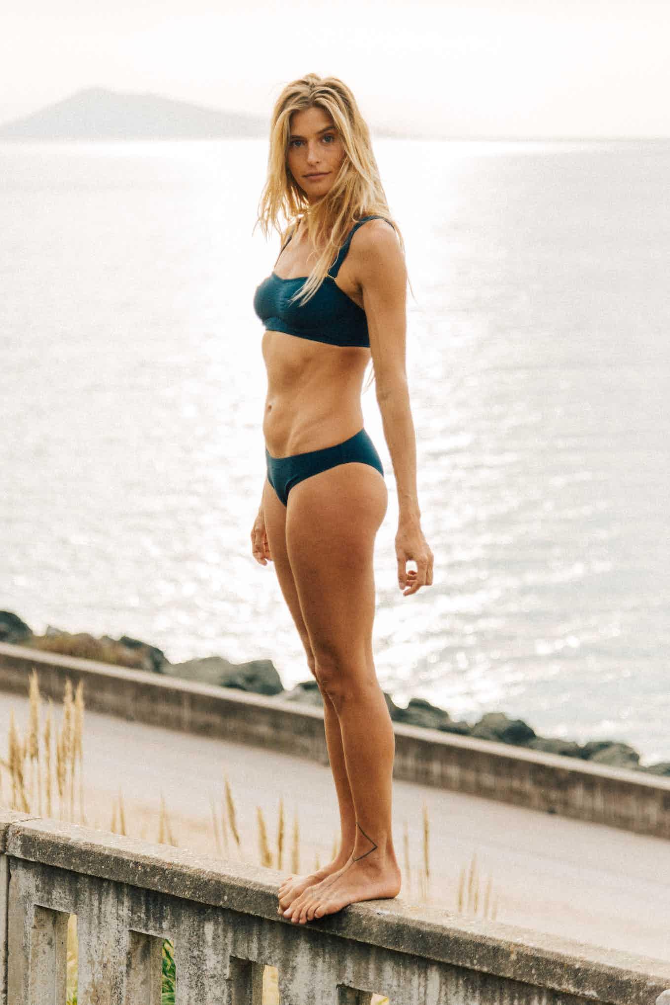 Bikini Rêve d'horizon in petrol blue