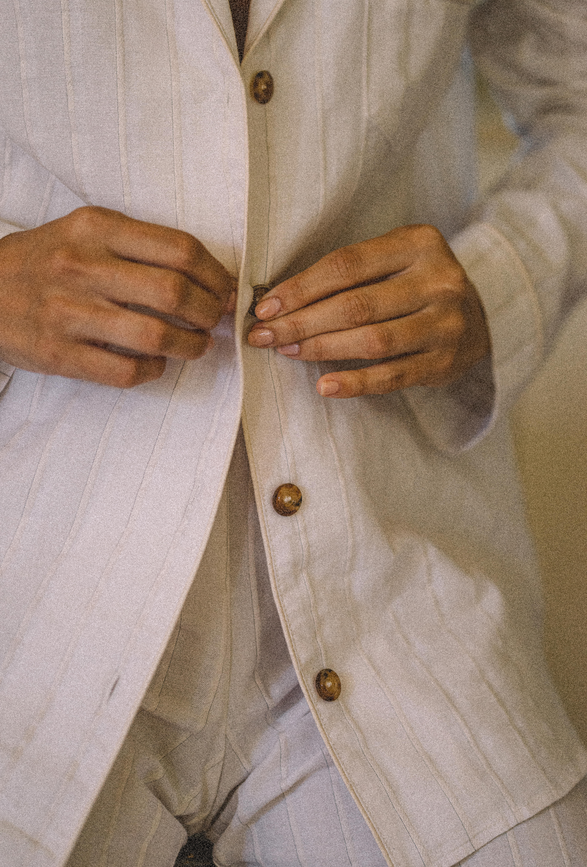 pyjama songe de nuit ivoire