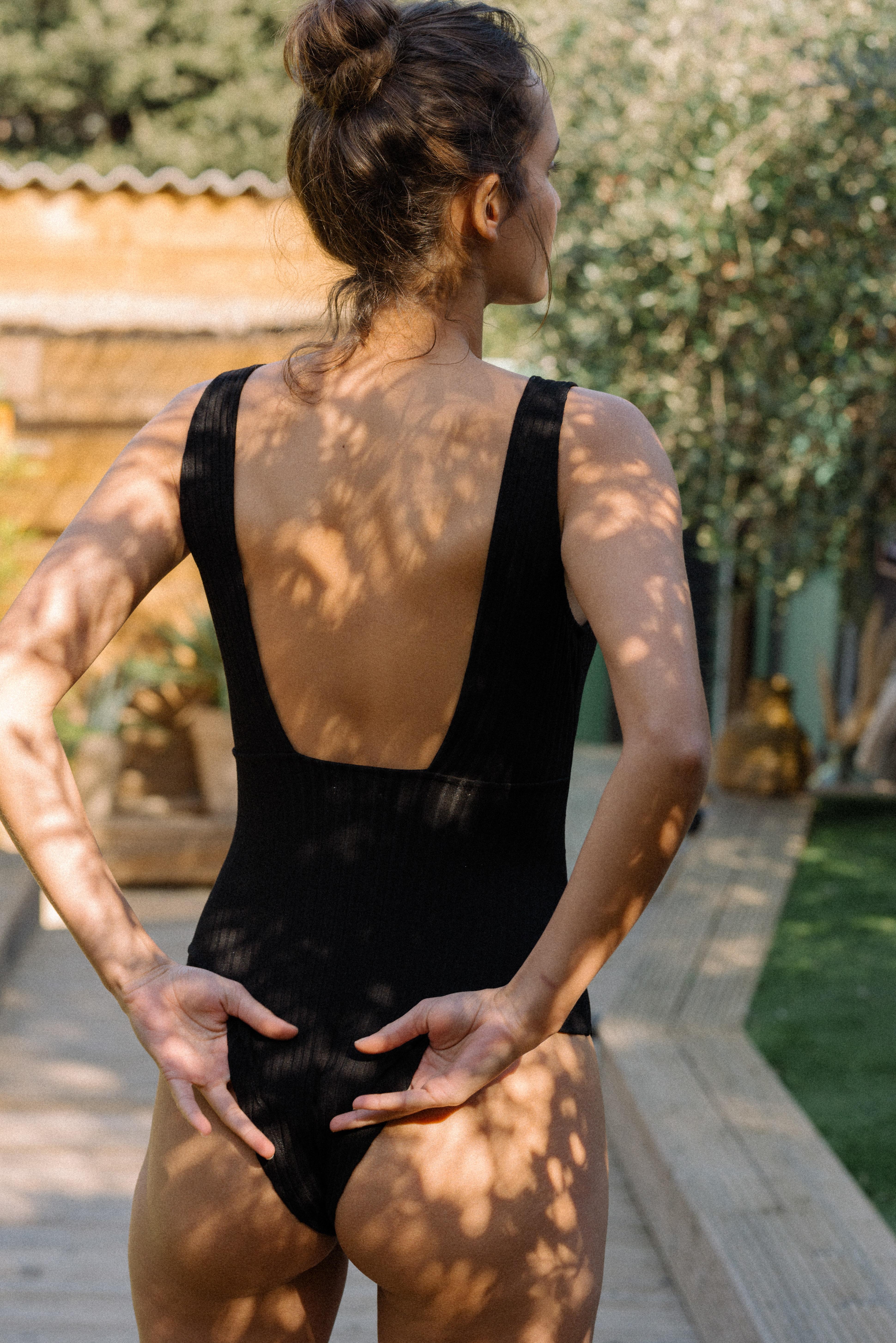Bodysuit Gaeline in black
