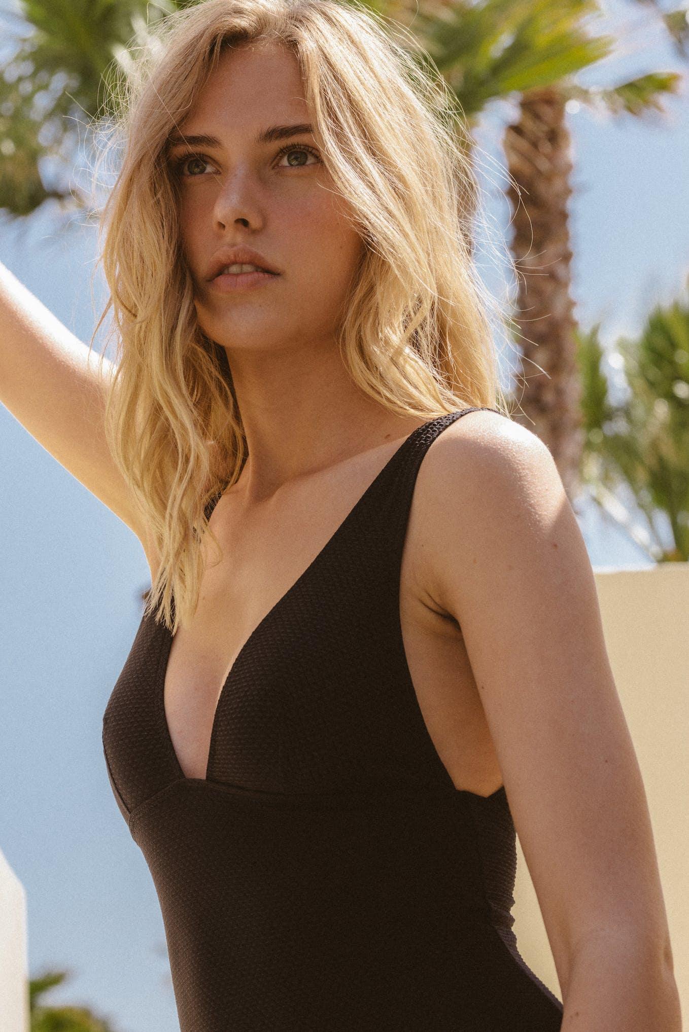 Swimsuit Rêve d'horizon in black