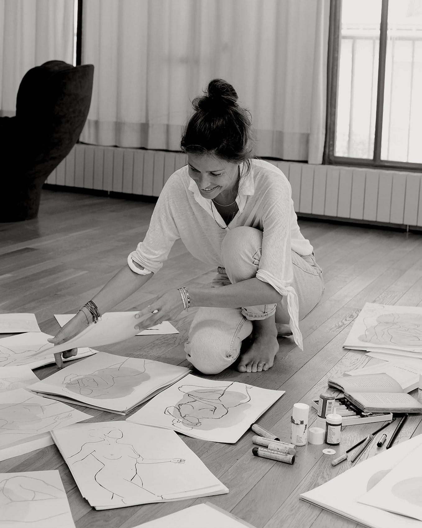 Ysé X Faustine Badrichani - artiste