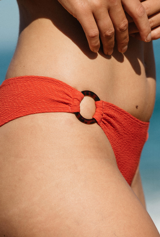 Bas de maillot de bain Horizon doux corail