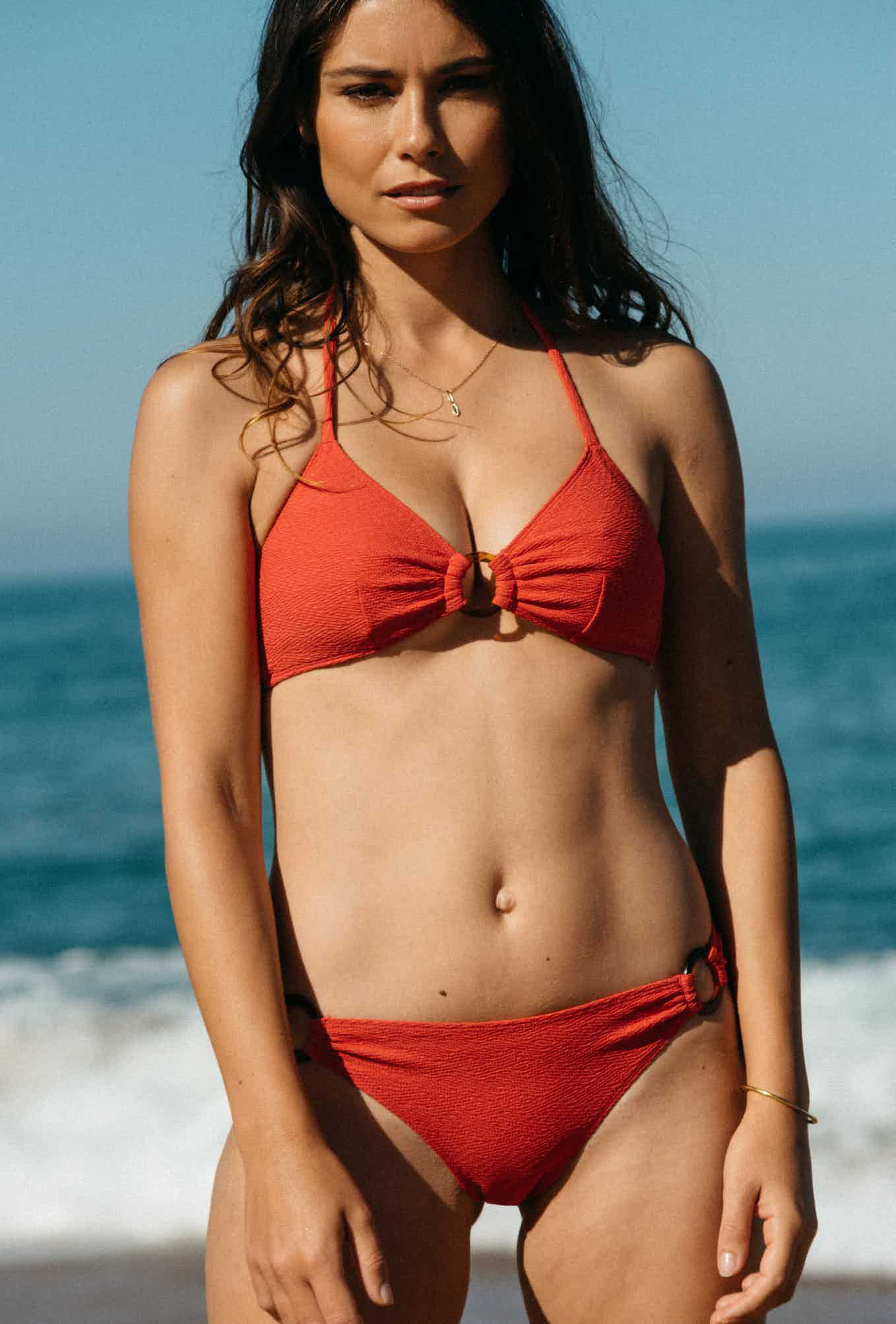 2 piece swisuit Horizon doux in coral red